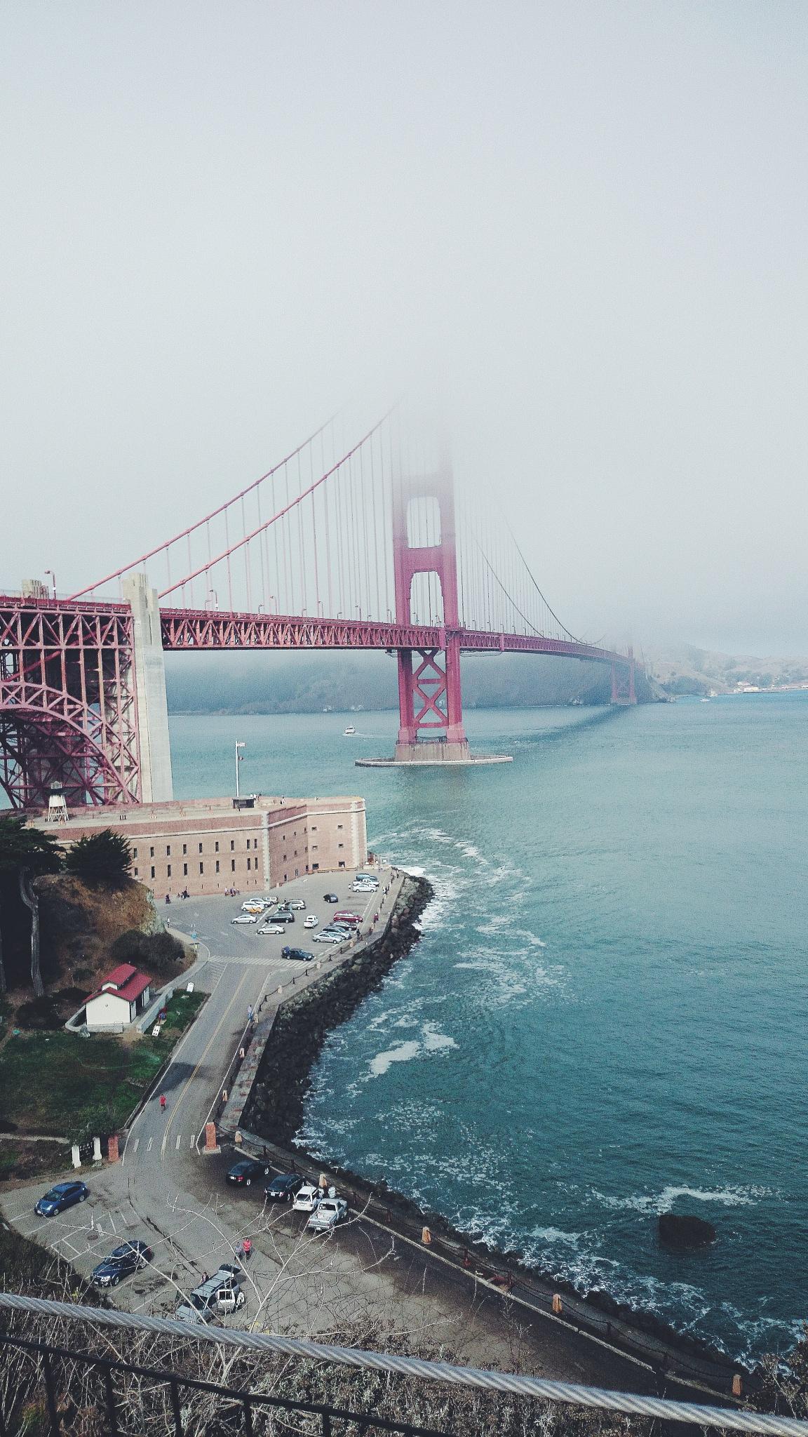 Golden Gate Bridge by KaitlynRosen