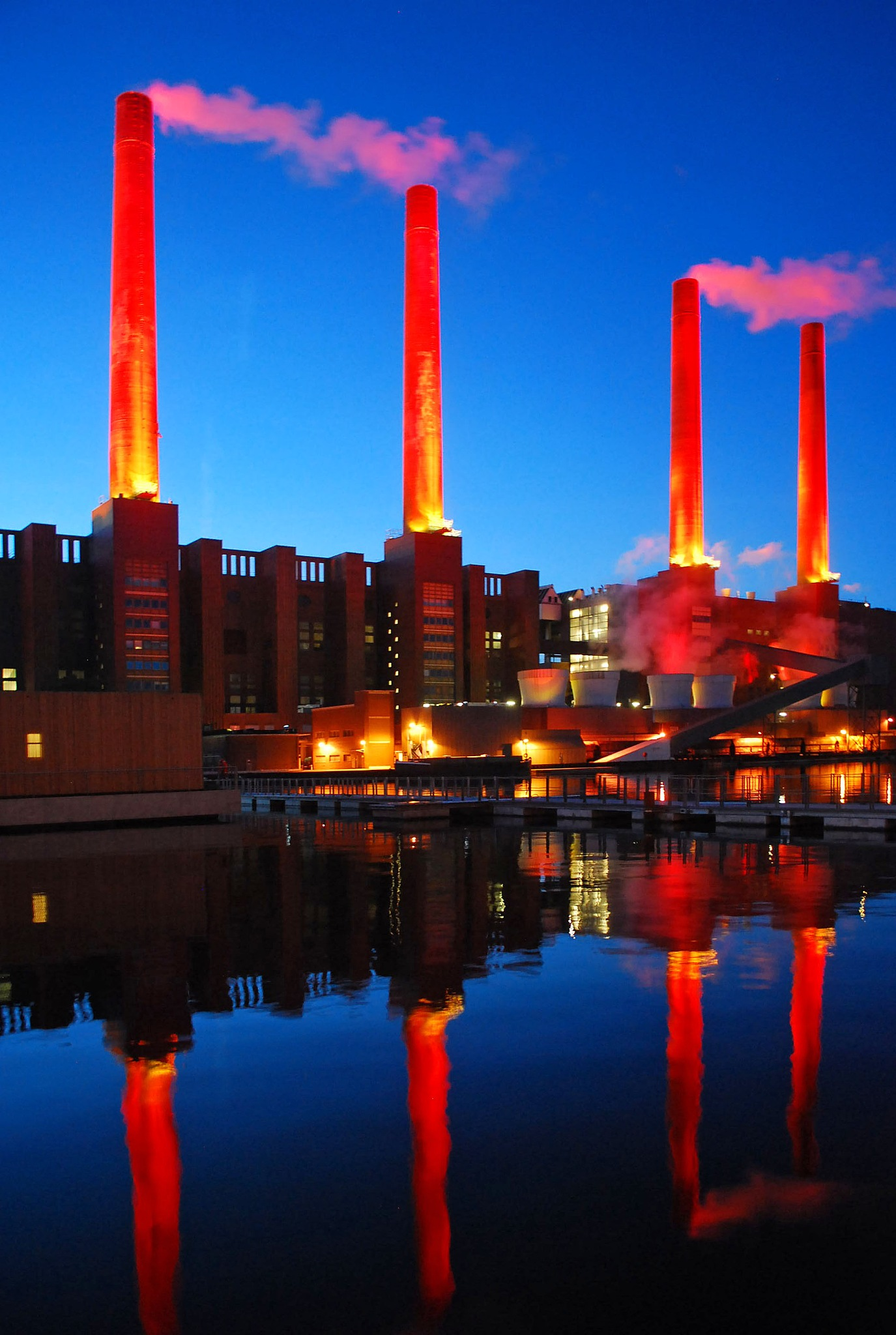 The luminous power station by liwesta