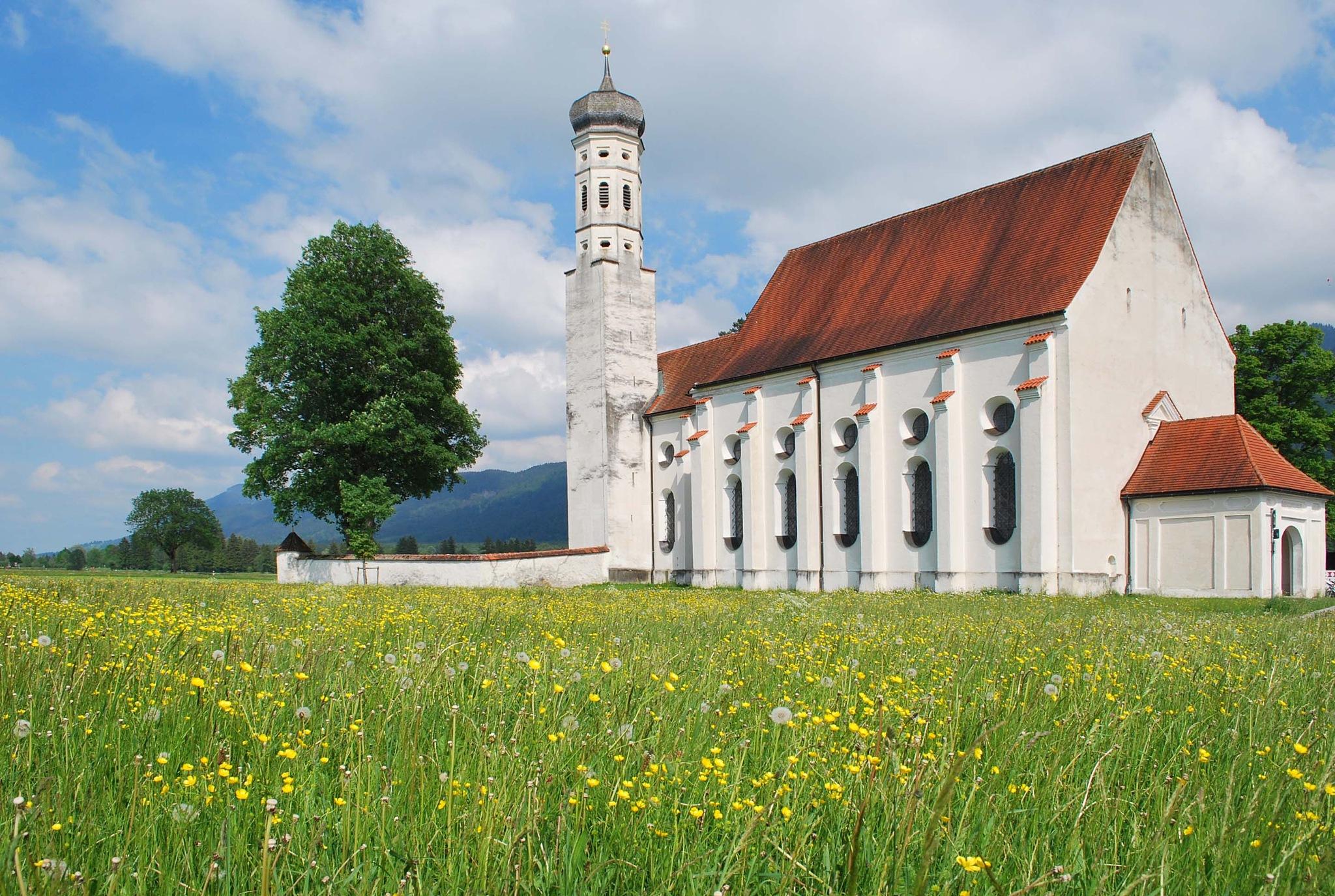 St.Coloman in wonderful springtime by liwesta