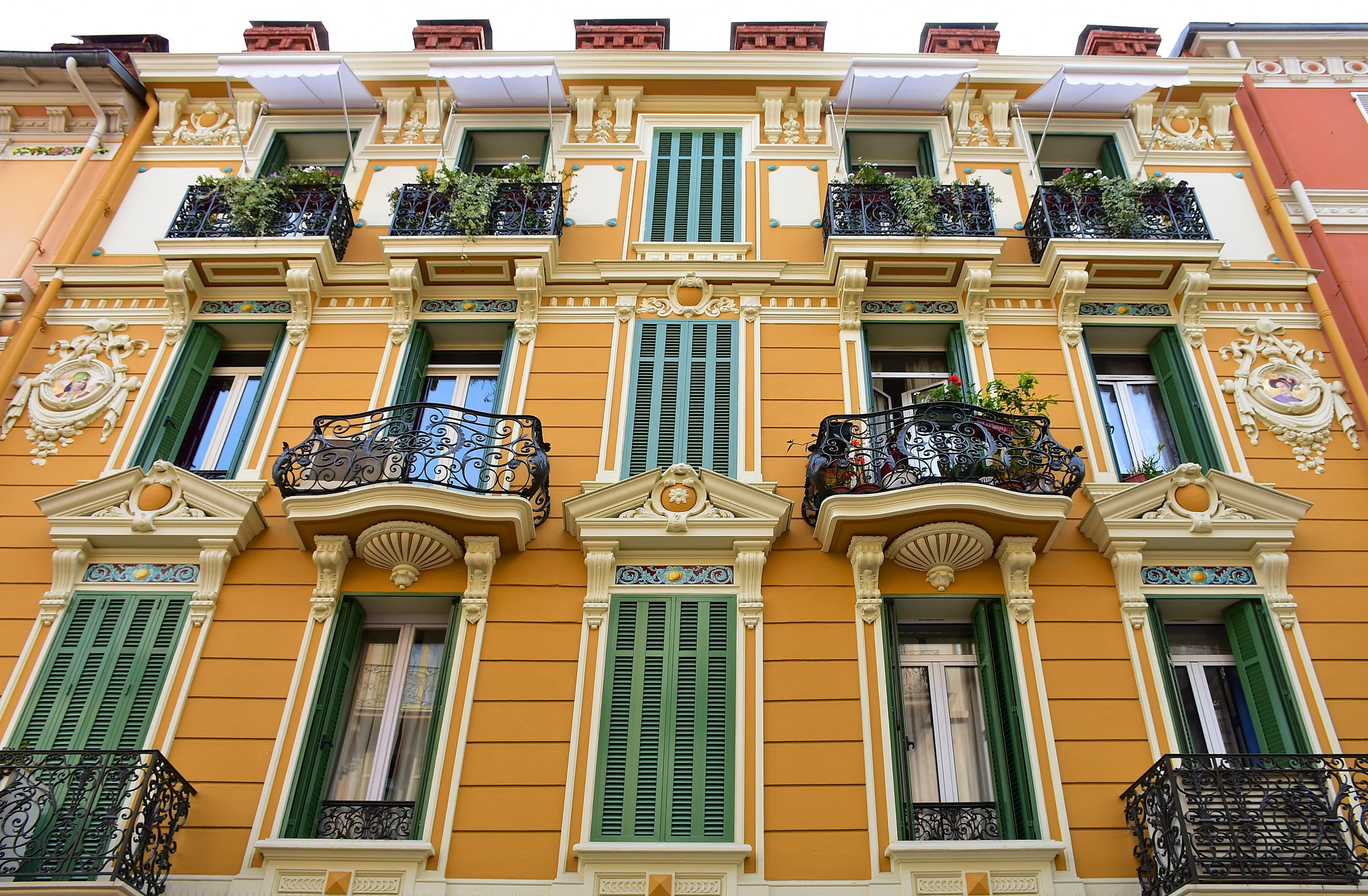 Balconies of Monaco by liwesta