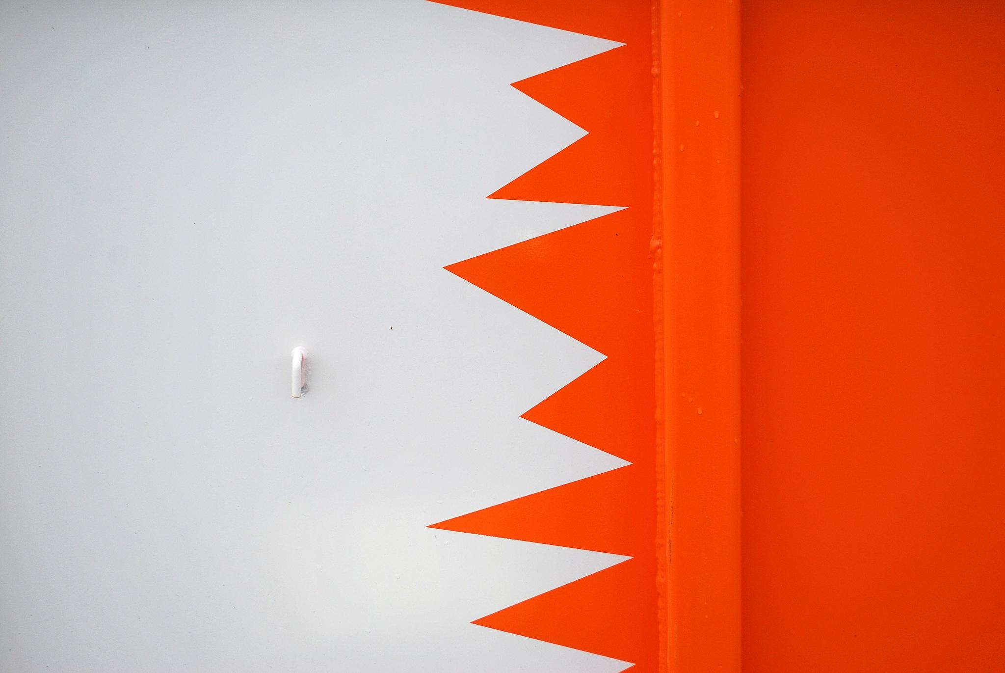 Orange Zickzack by liwesta
