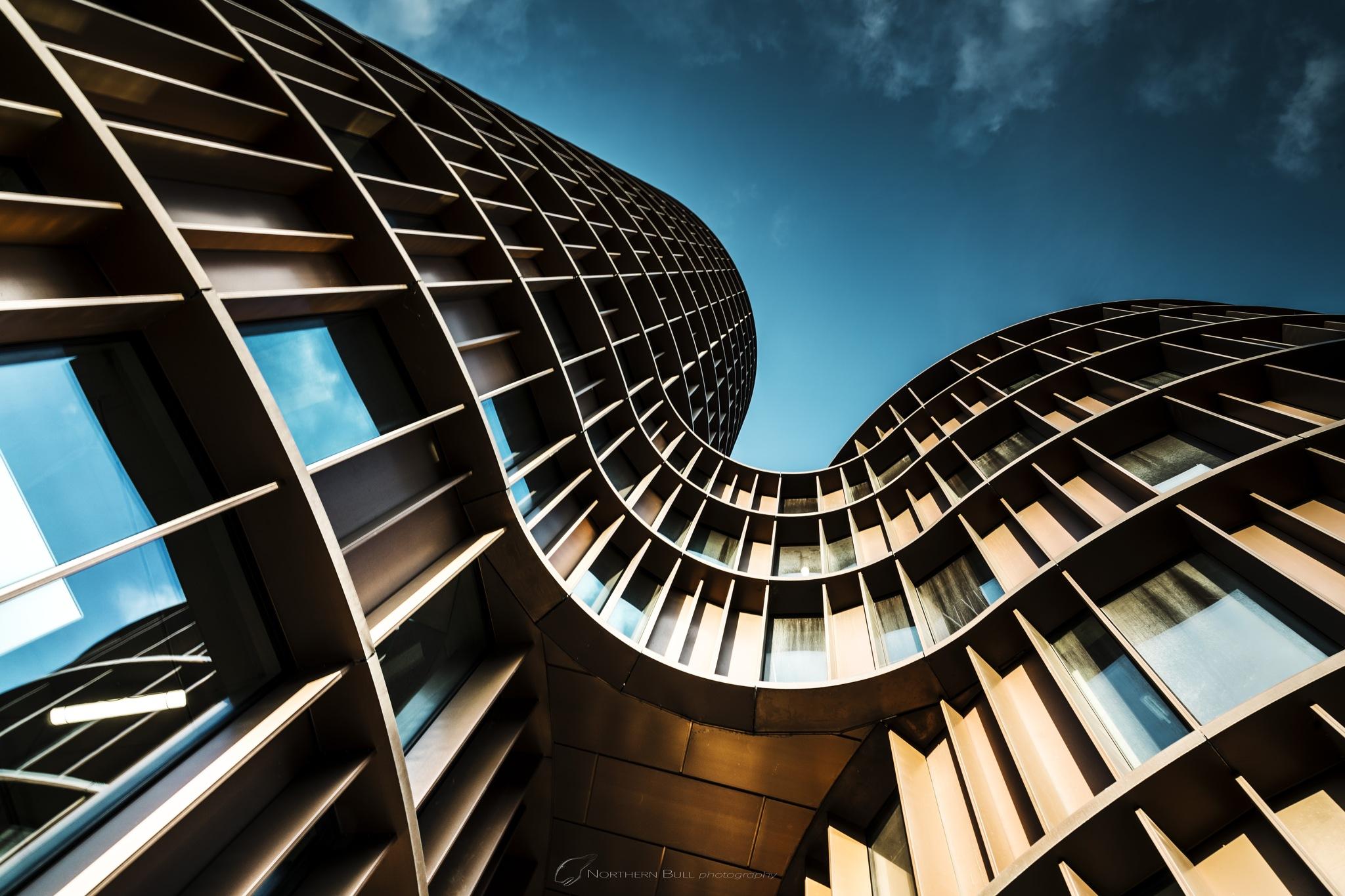 Axel Towers , Copenhagen by Mikael Flis