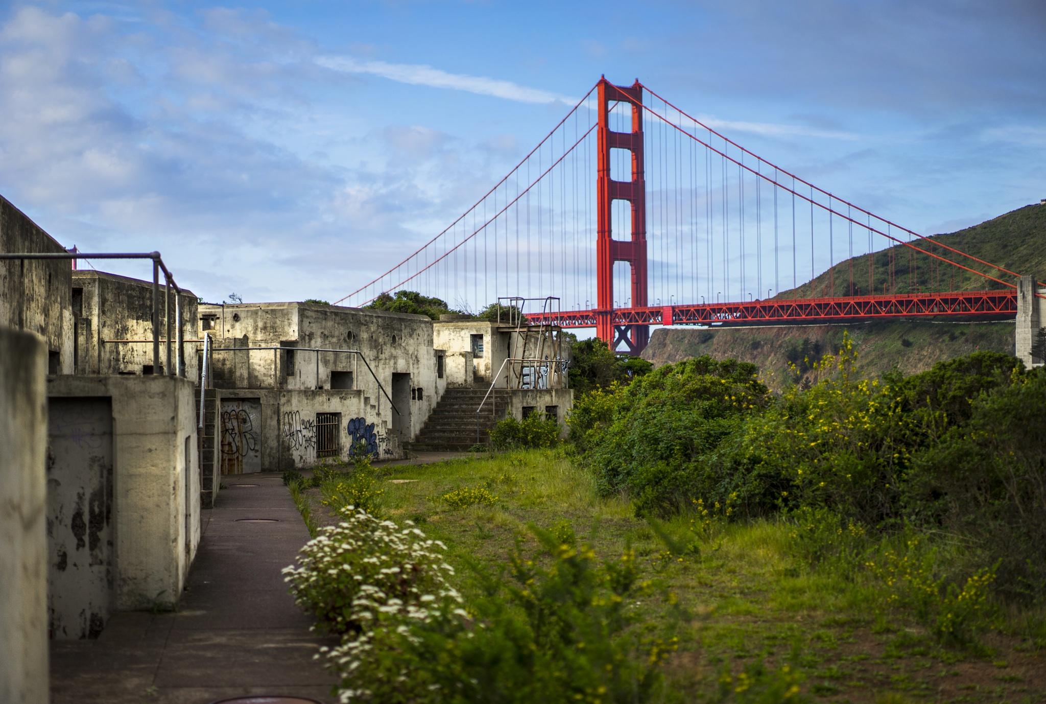 Golden Gate Bridge by Number 1 Jedi