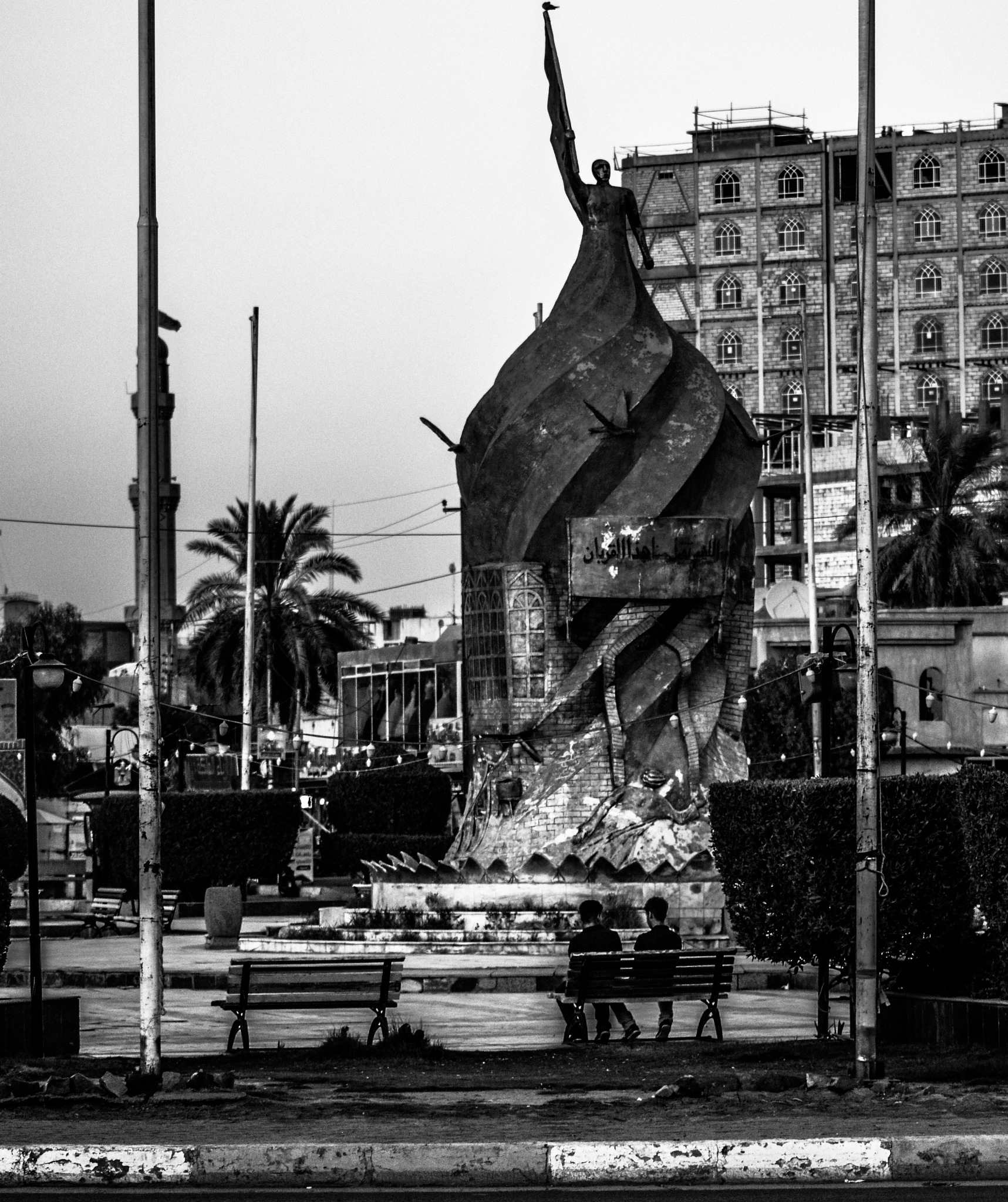Statue of Victory by HussainAhmed
