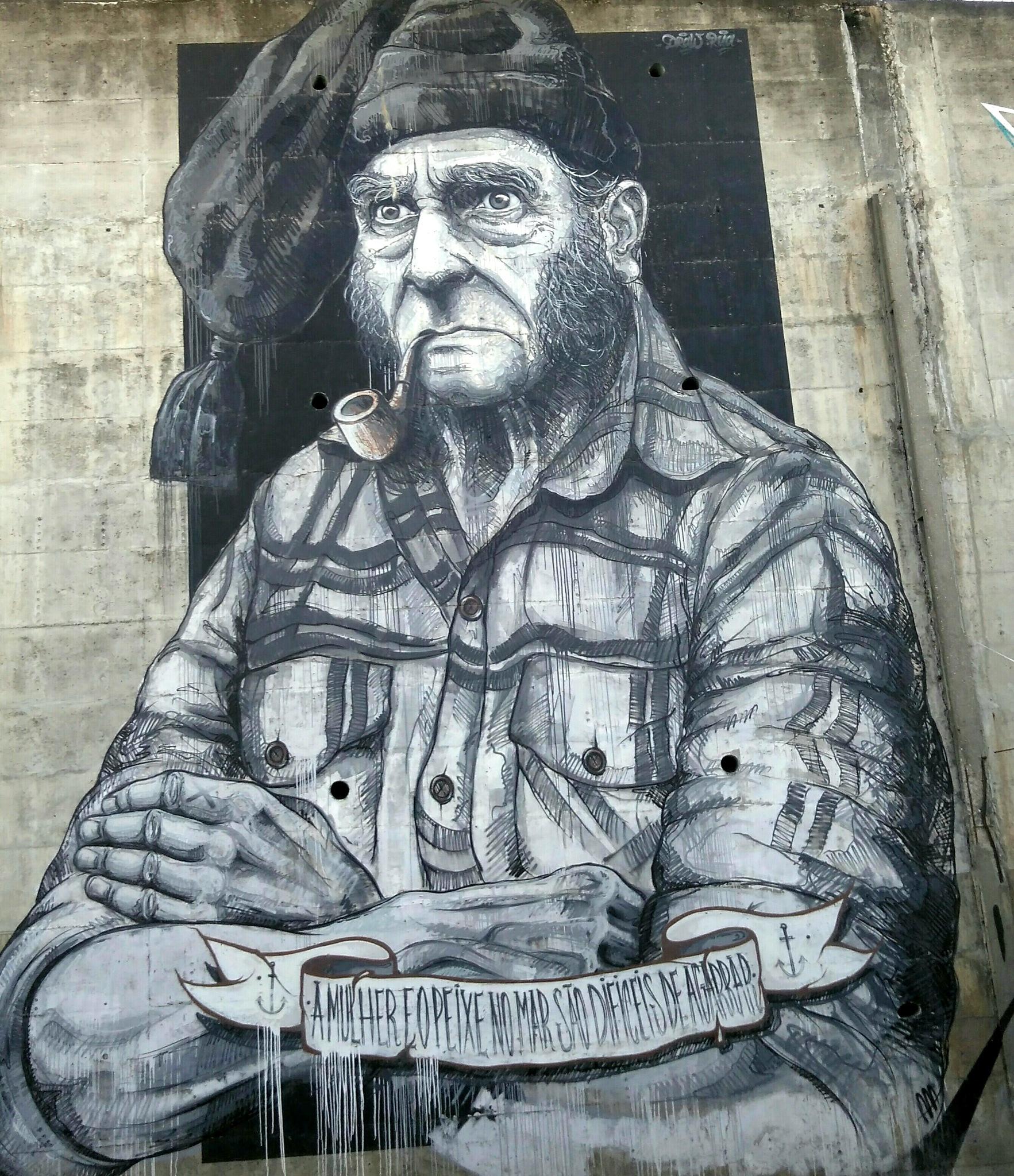 Graffiti Street Art by Filipe Oliver
