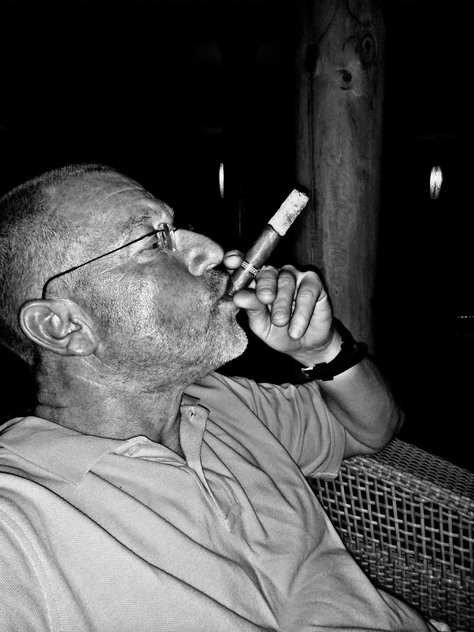 Cigar...Men by Marcus Jan