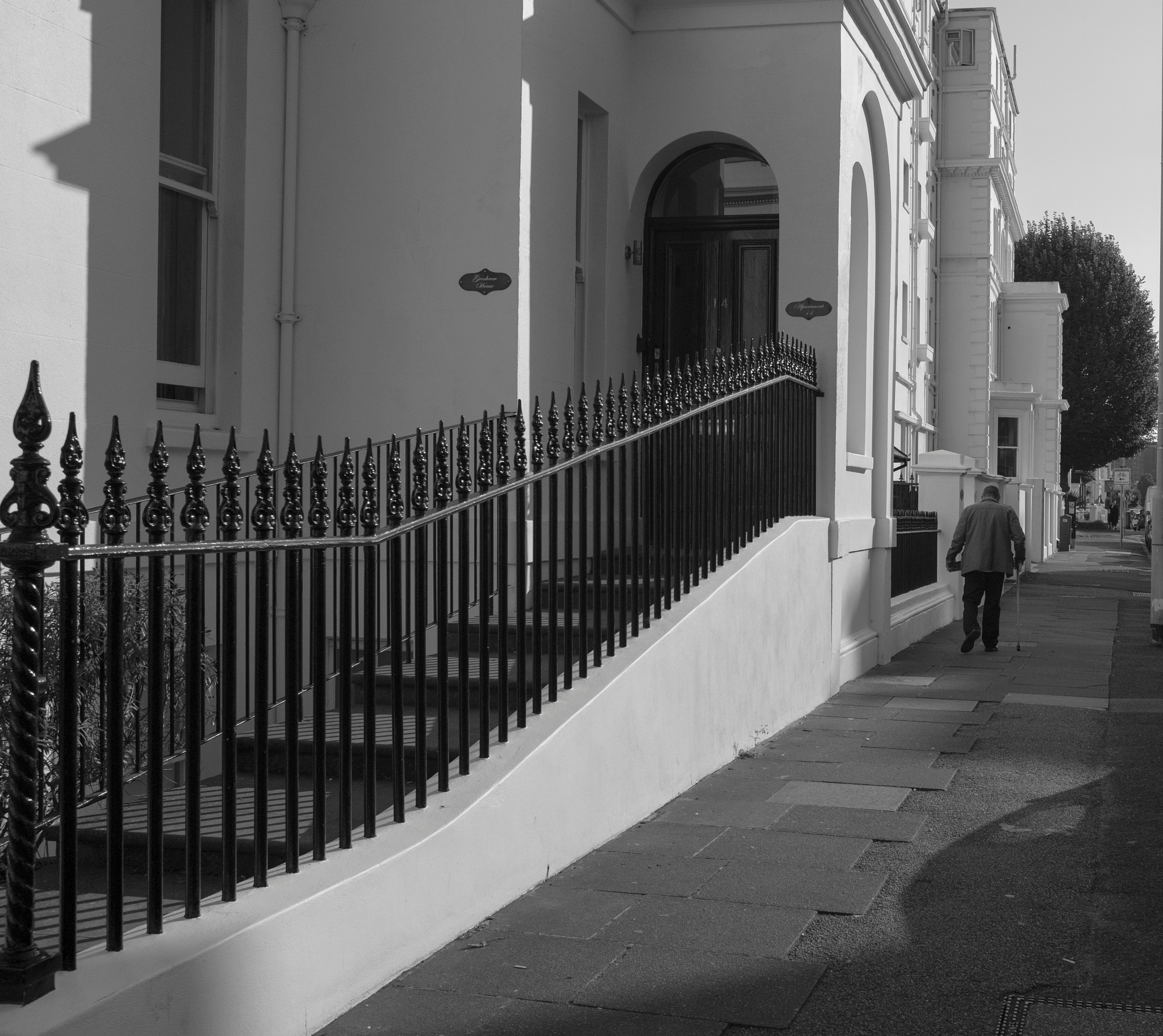 Old Man in Eastbourne by pickgenic