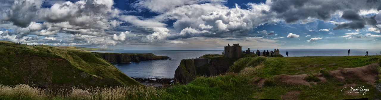 Dunnottar castle by tomazek