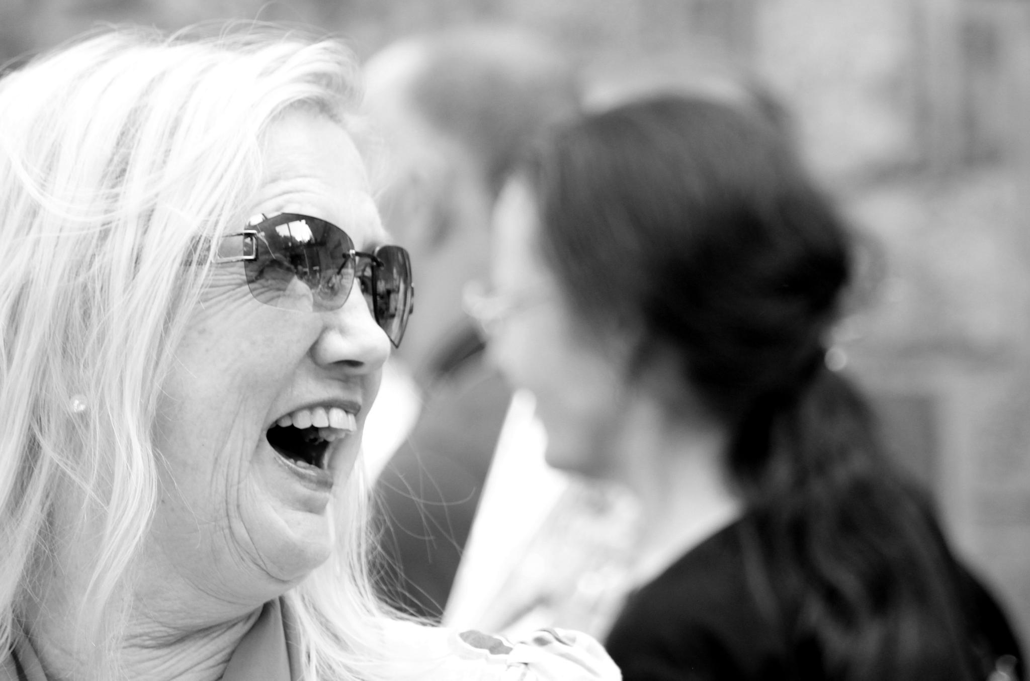 Photo in Portrait #black&white #portrait #joy