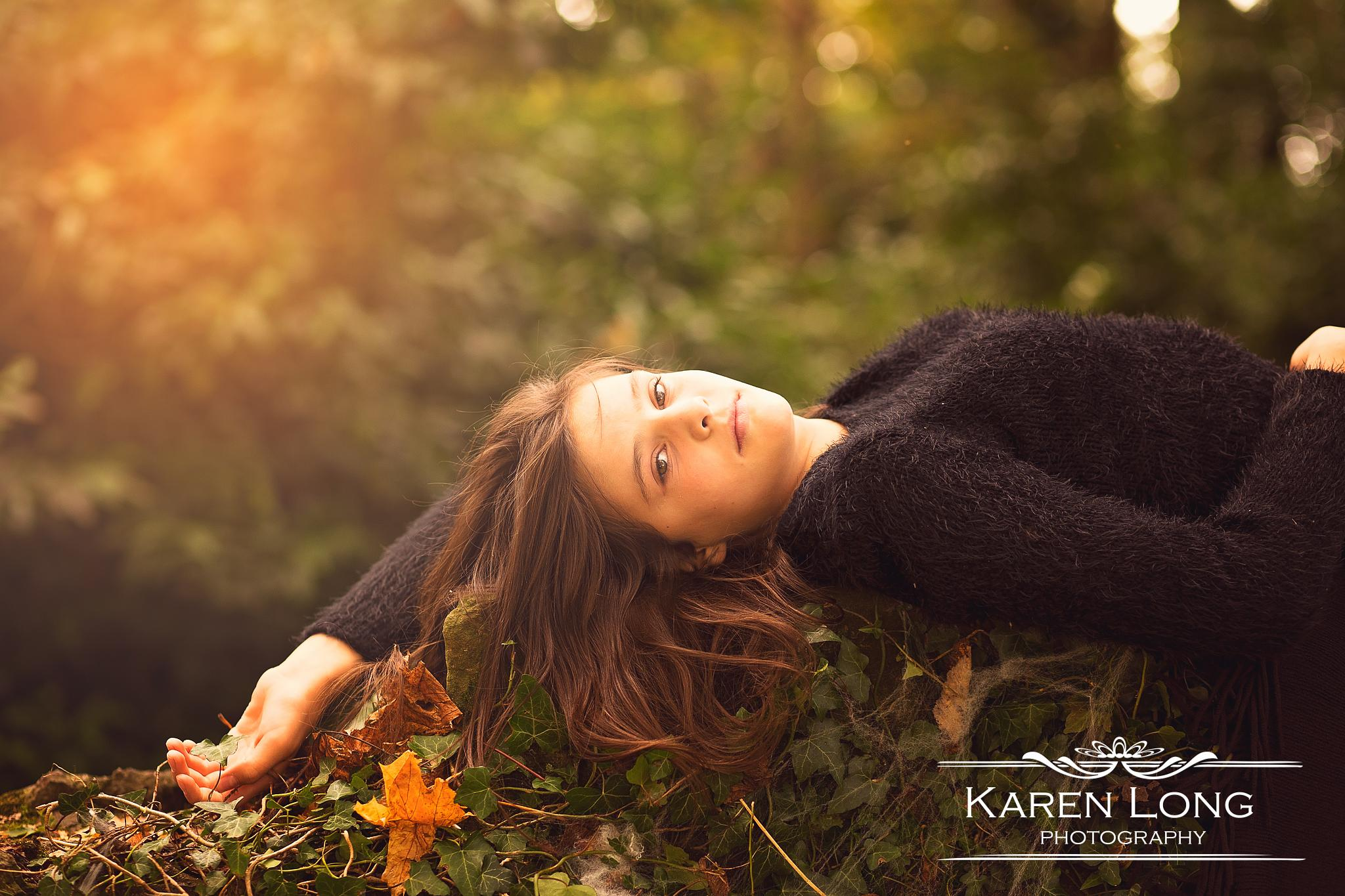 I wish she knew how beautiful she is by karenlongphotography