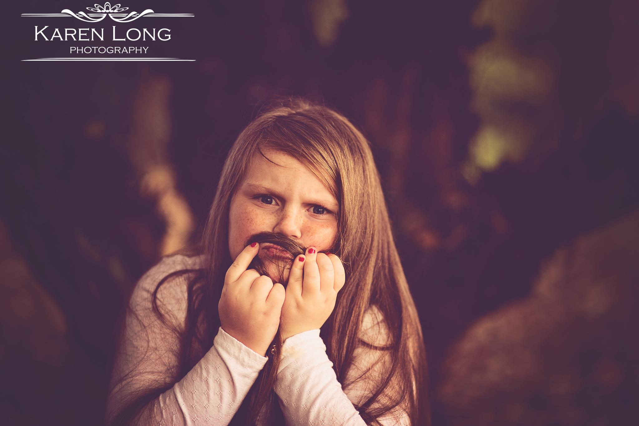 Mustache by karenlongphotography