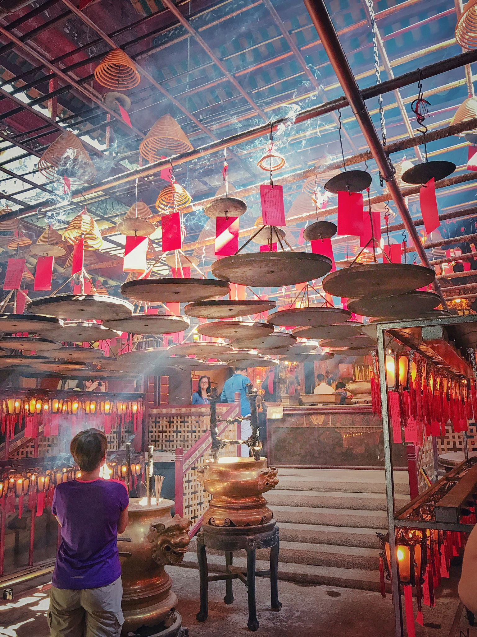 Man Mo Temple by Anson Yu