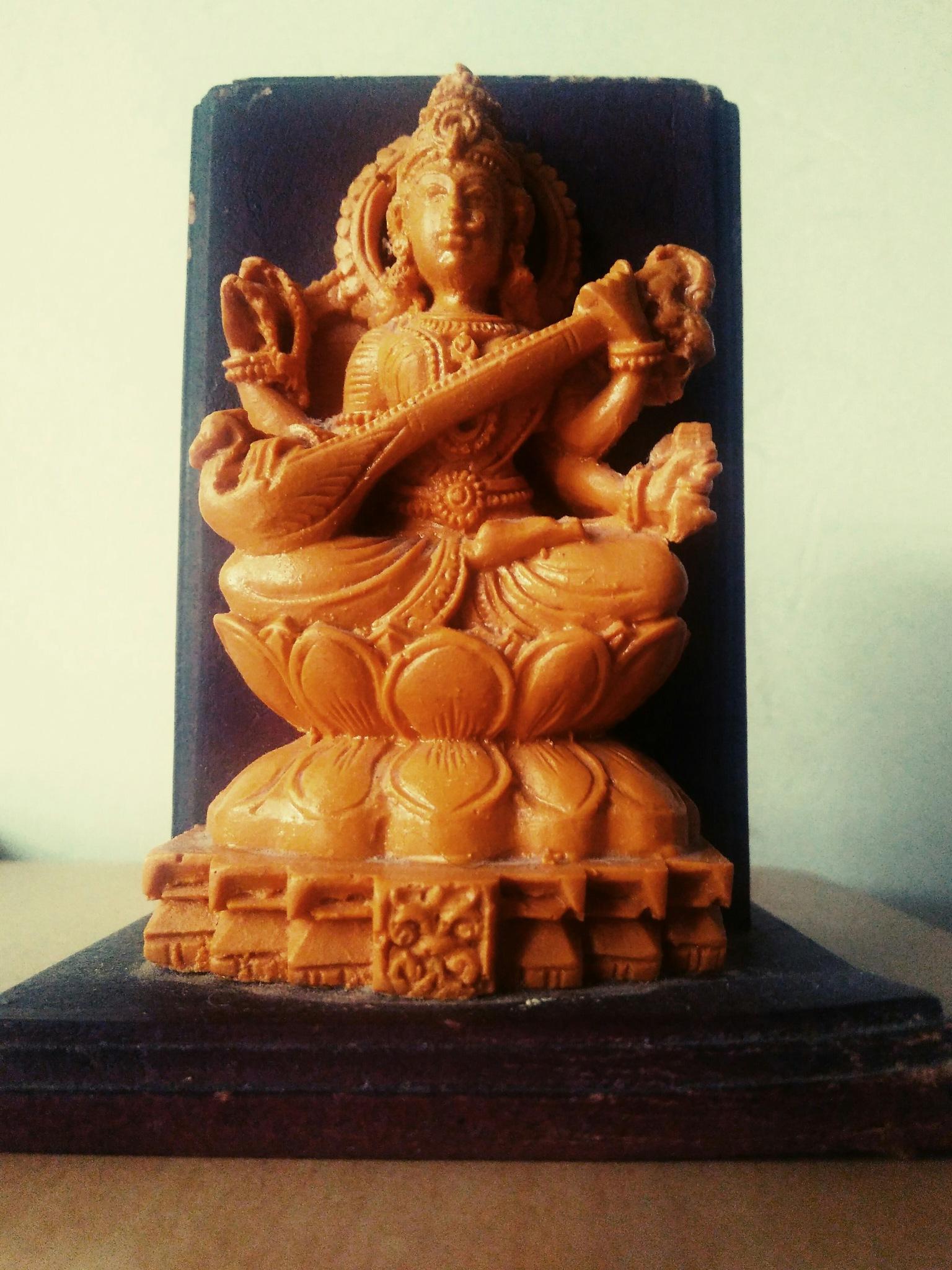 GODDESS SARASWATHI by Goutham