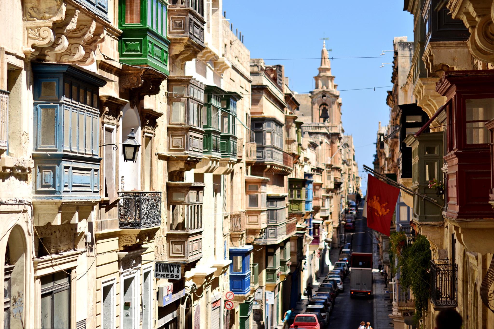 For the Balconies of Malta (1) by Greta Kniežaitė