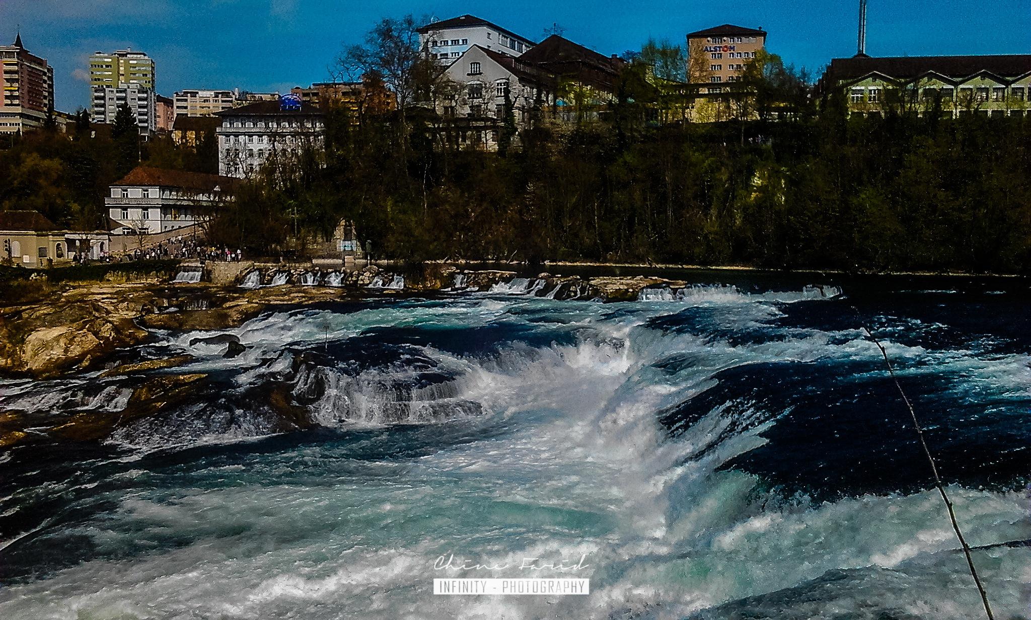 Rheinfall by CHINE Farid