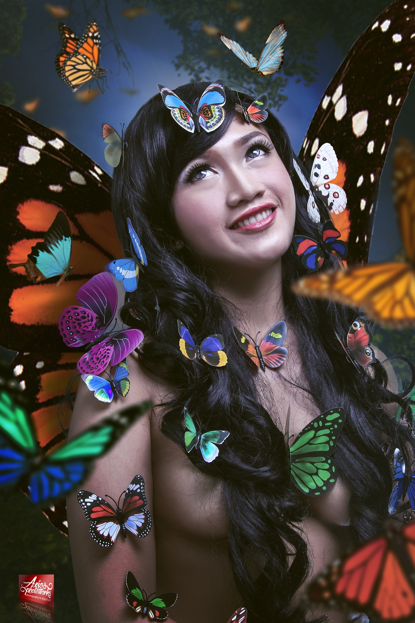 mother's of butterfly by ario photowork