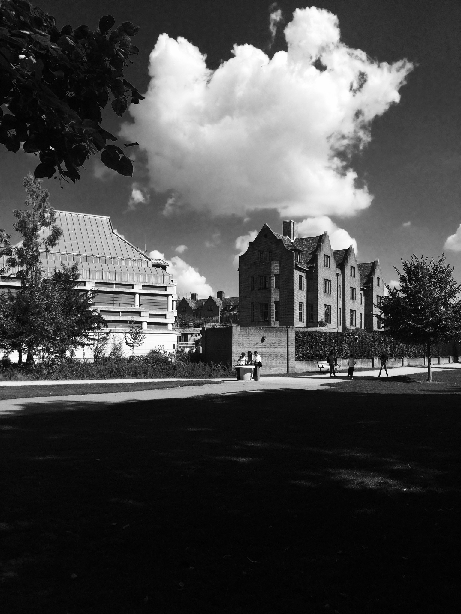 Queen College by Ian Haygreen