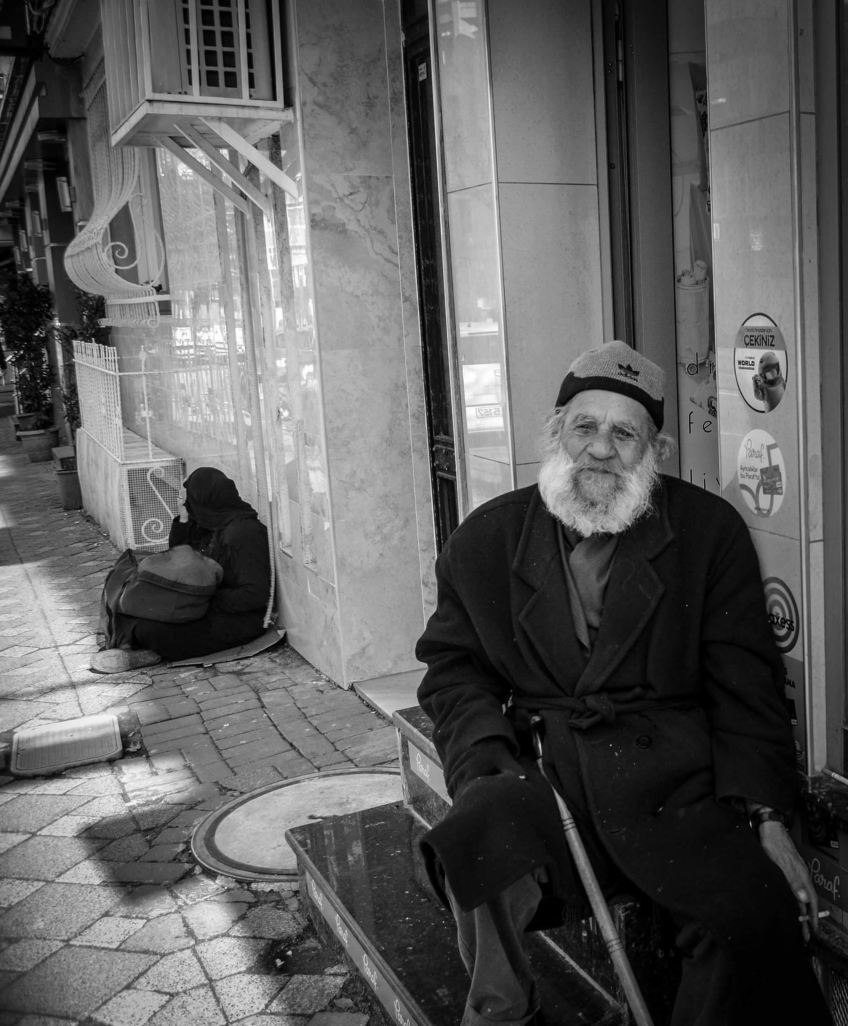 old man by Emel Seckin