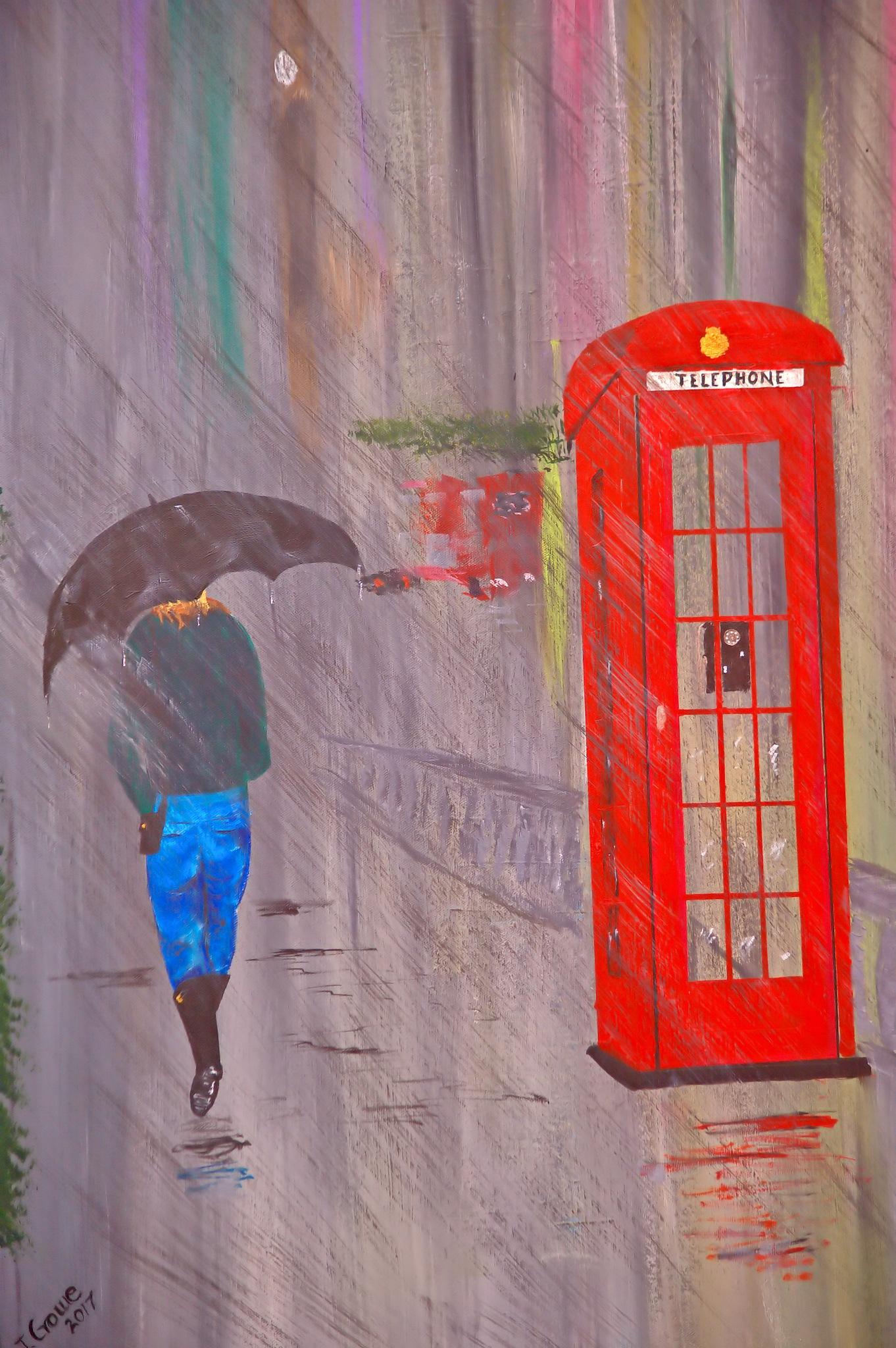 Rain Day  by Orlando Bautista