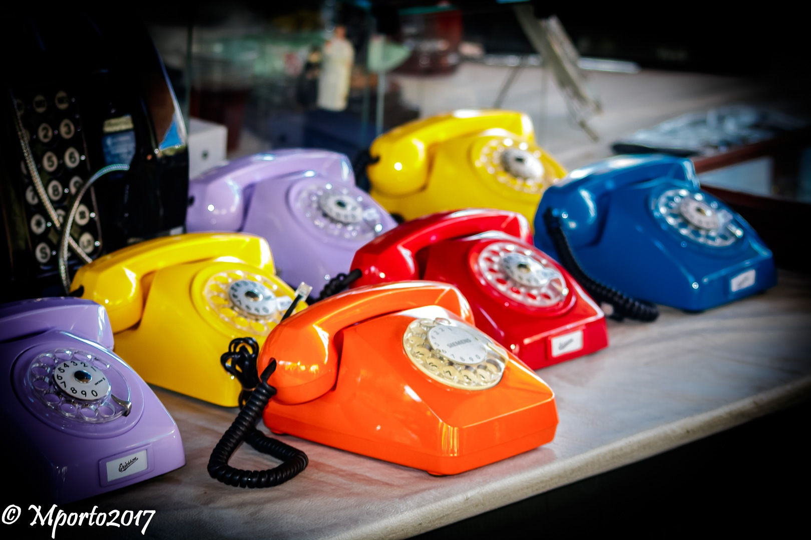 The phones  by Marcel Porto