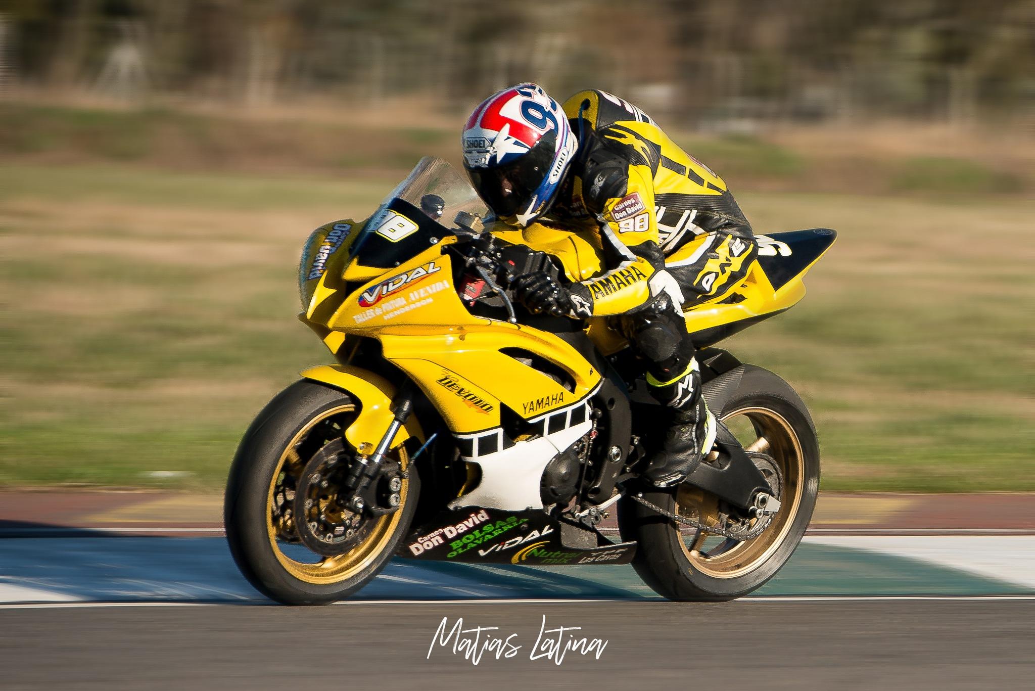 Motorcycling by Matias Latina