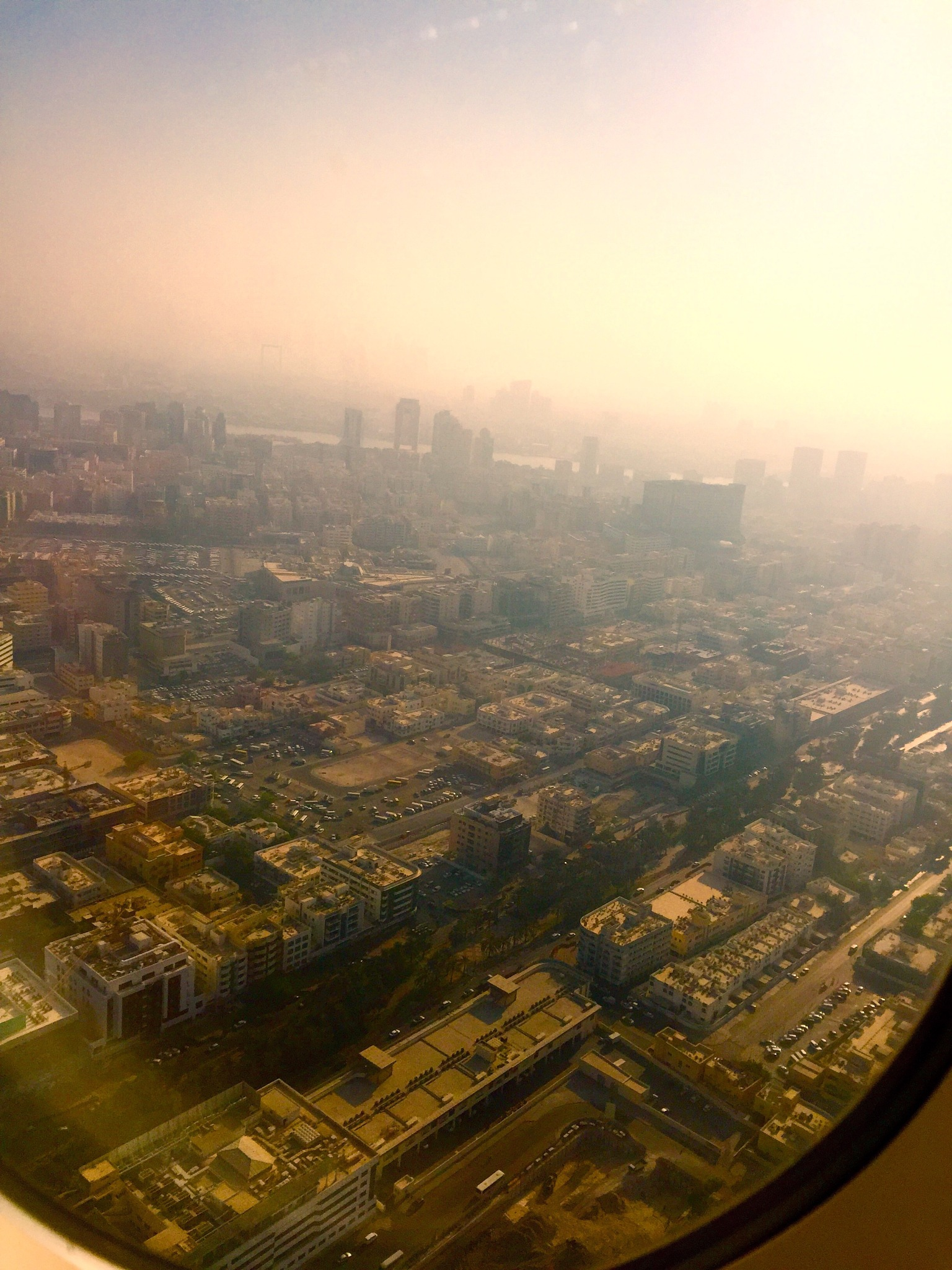 Dubai from above by Subham Pal