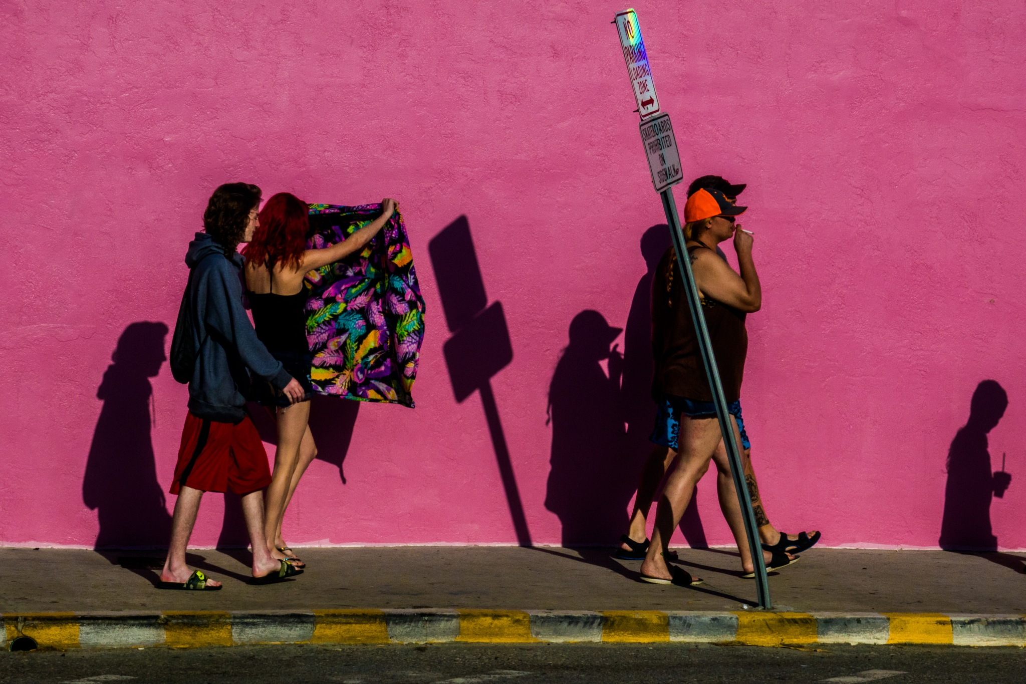 The towel by Carlos Antonorsi