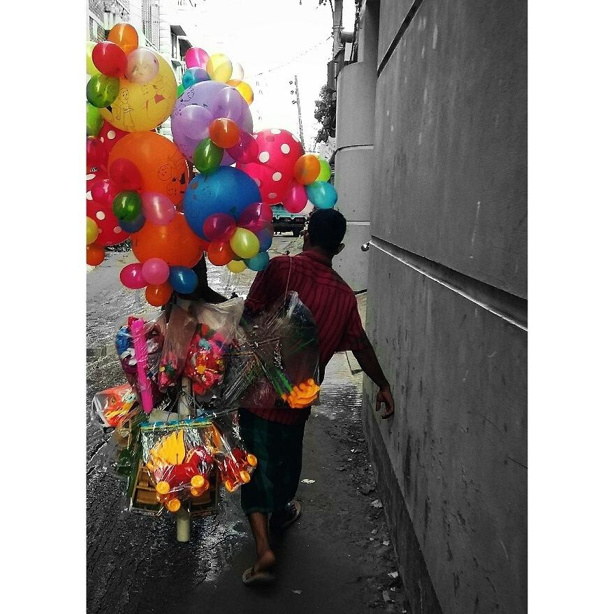 Street Hawker by Zahid Rokon