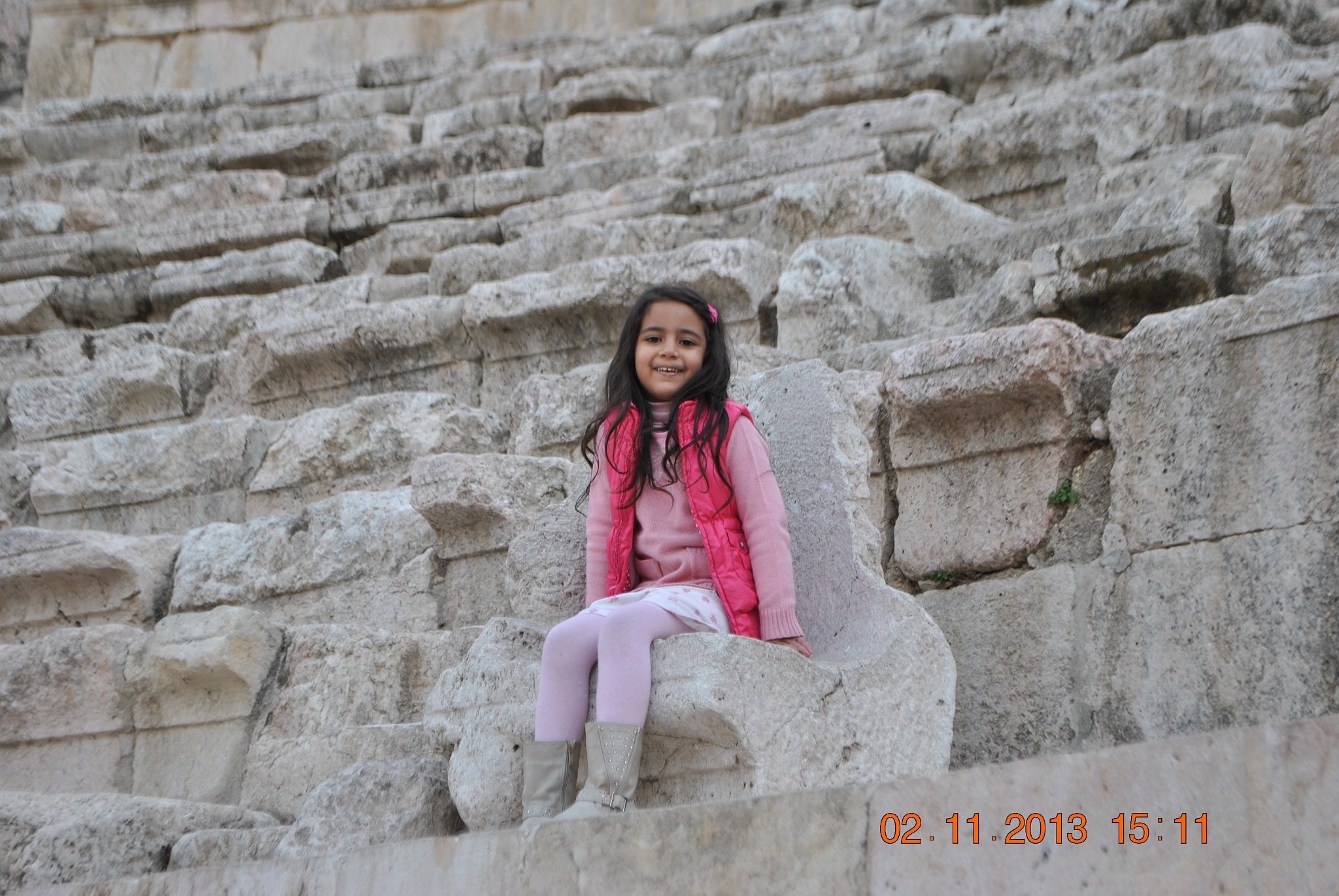 Roman Theater Amman  by Majdi Mohammed Karajoghly