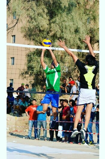 volleyball  by SaGr Kumal