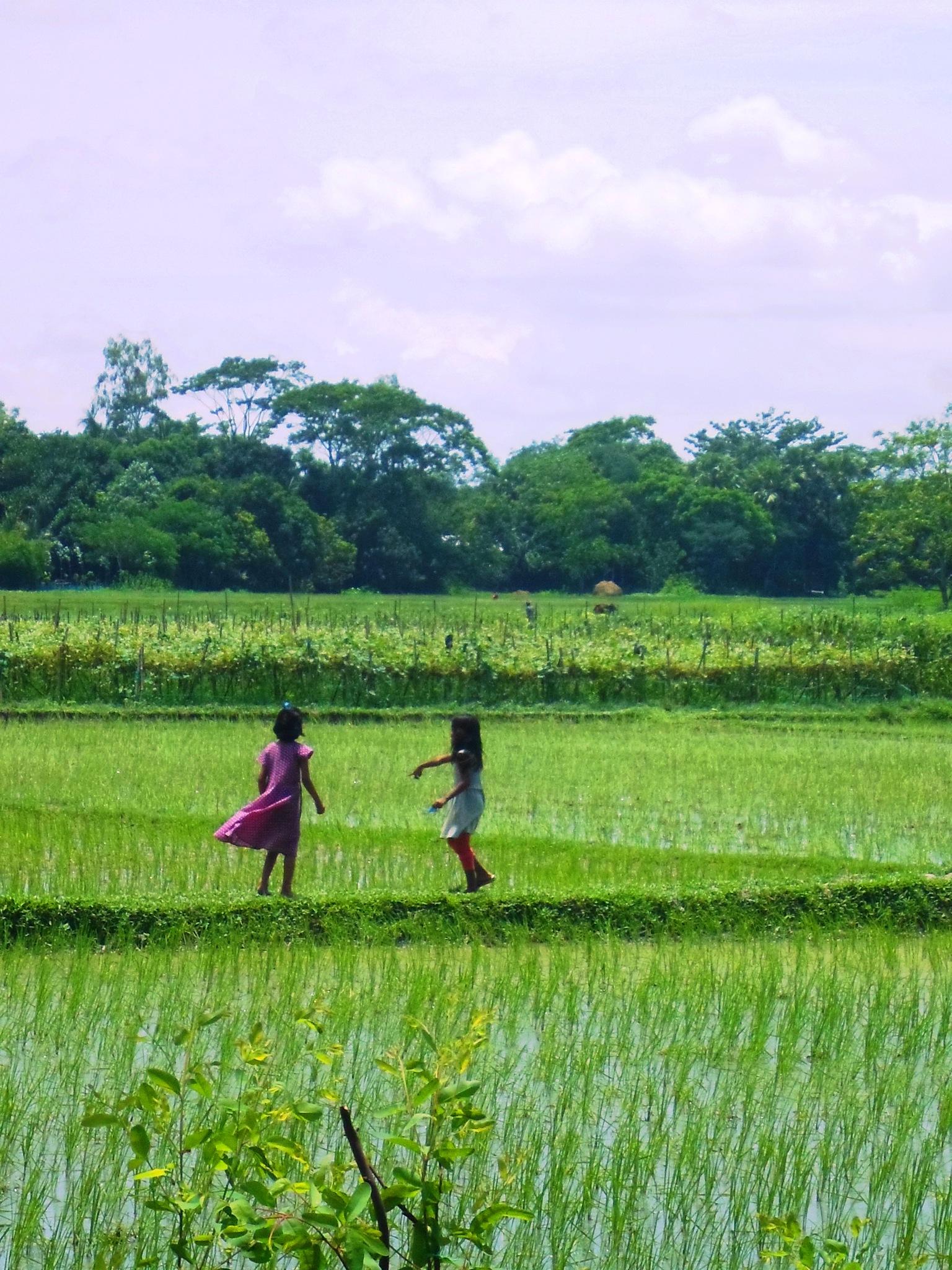 Childhood In Bangladesh by Kabir Faisal