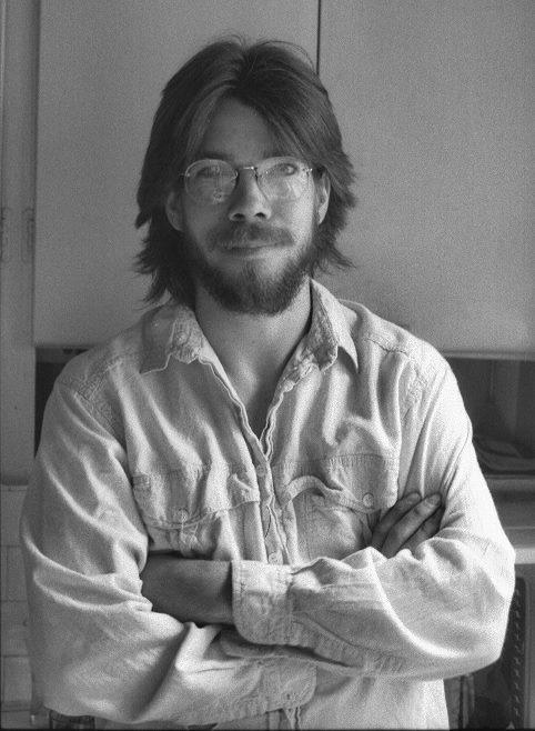 Auto-portrait 1987 by Benoit Aubry