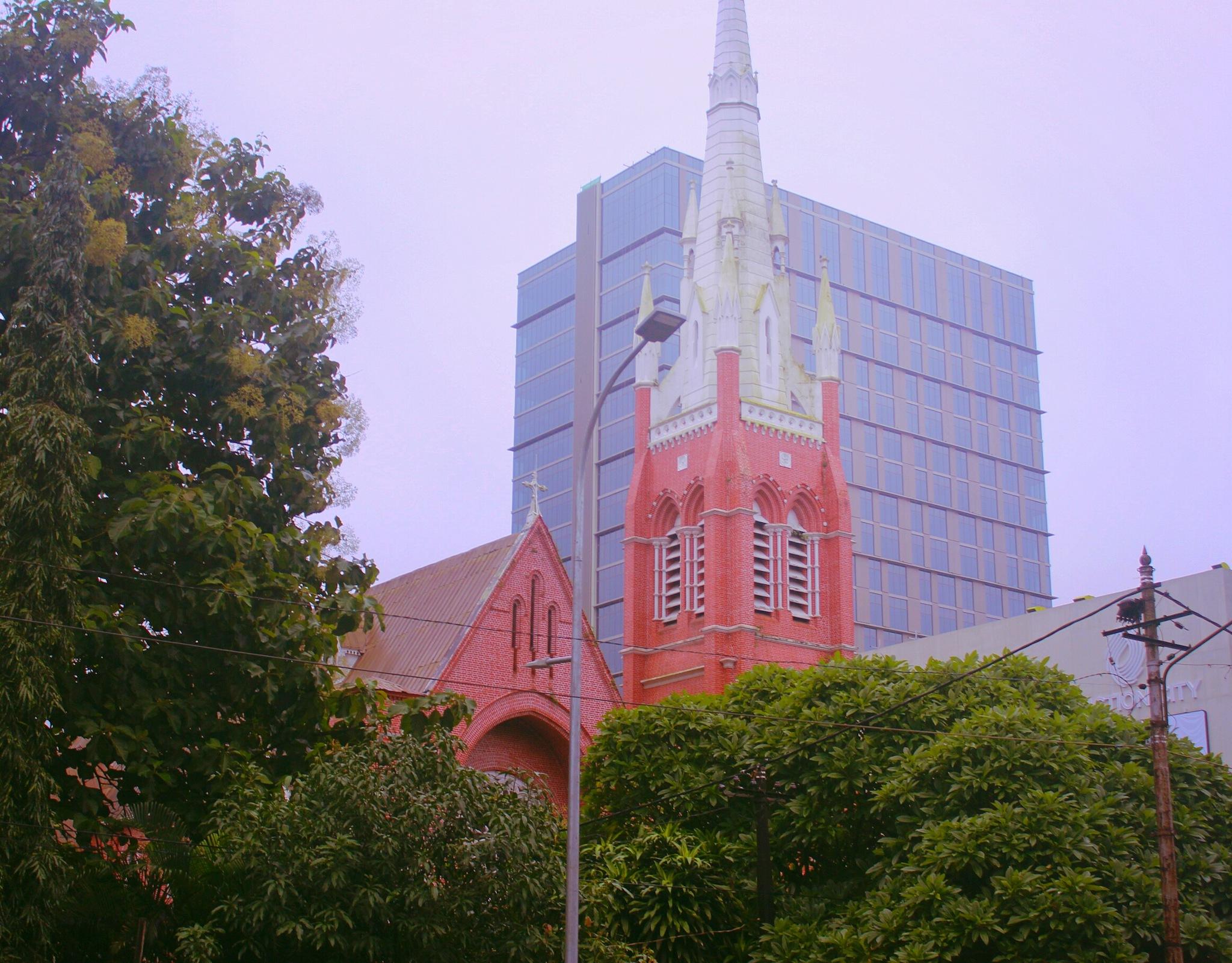 Church..  by Hana Kamel