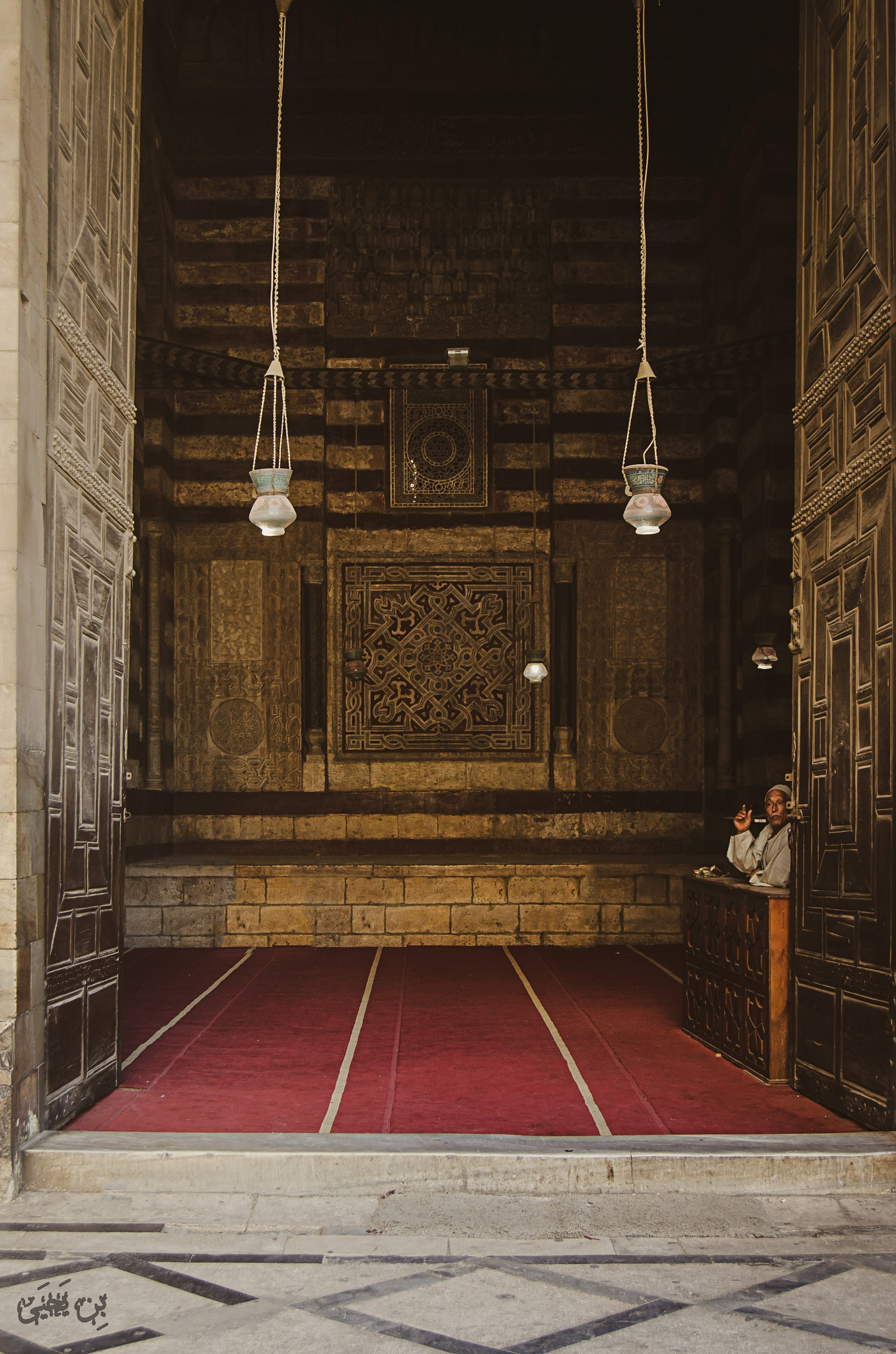 Mosque gate by Eslam Yahia