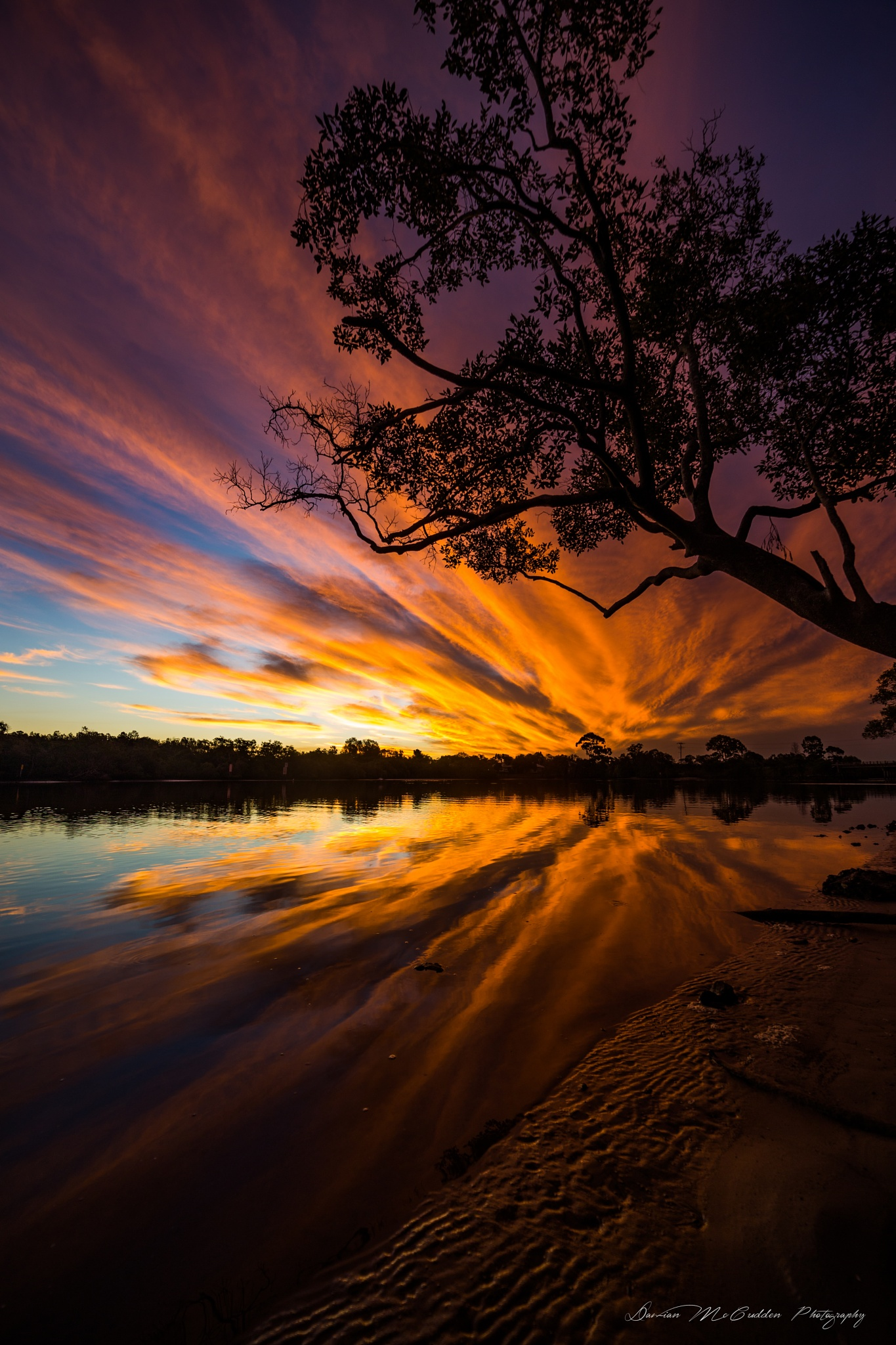 **Fiery Reflections** by Damian McCudden