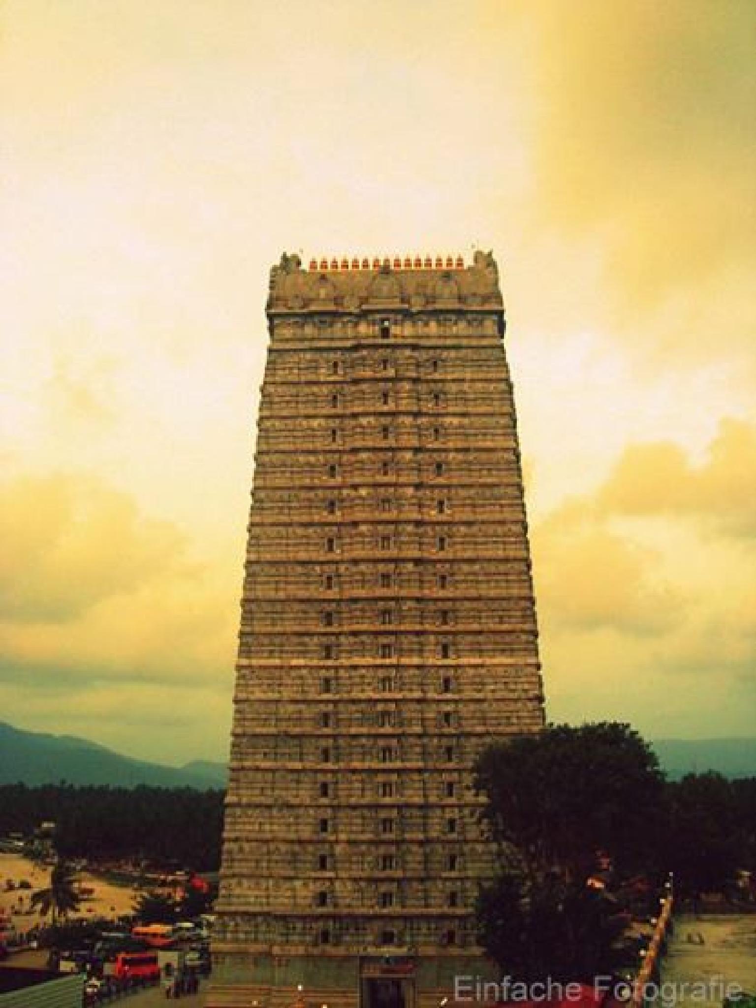 Murudeshwar Temple - Karnataka, India  by joemathew