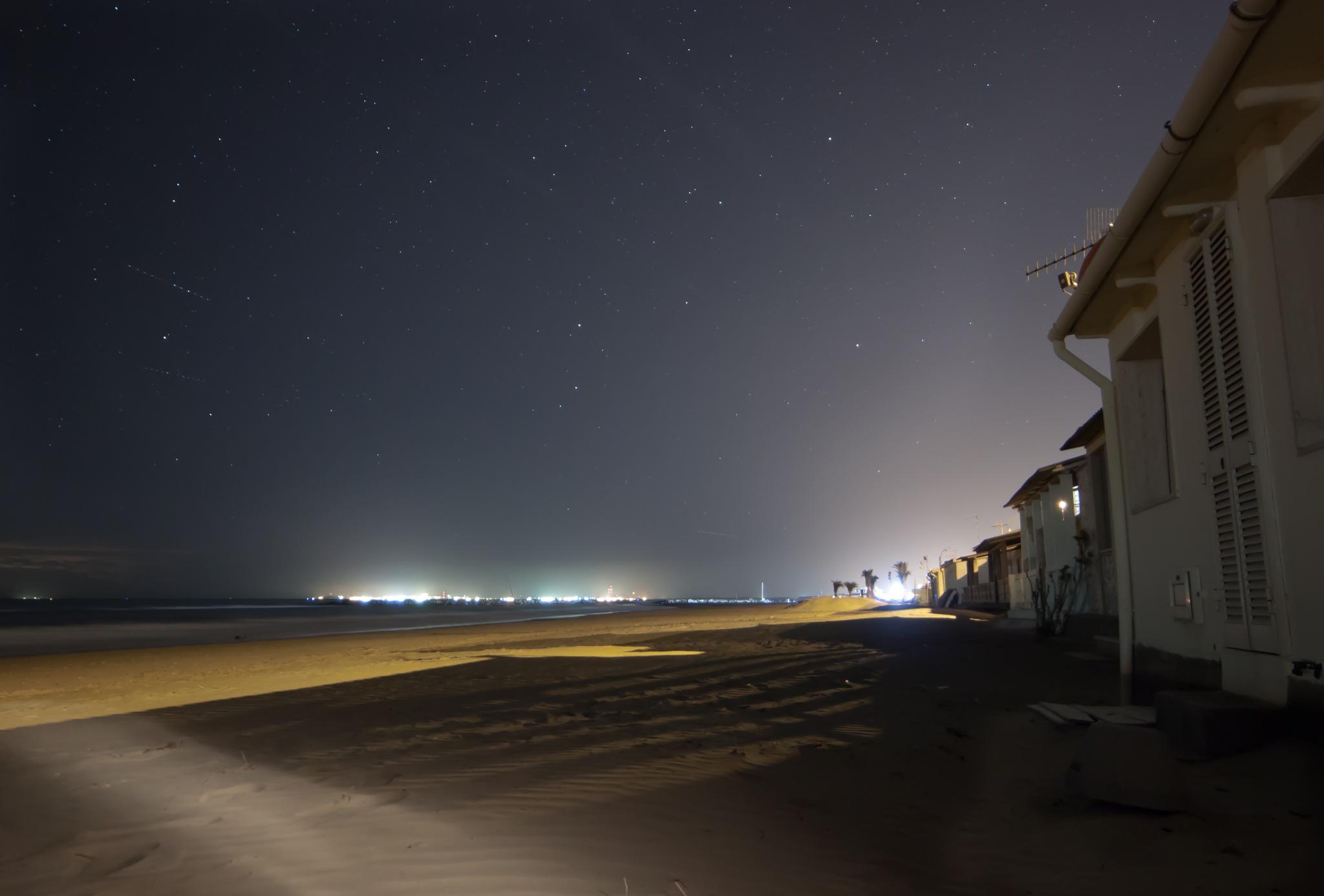 Beach by Night by Rockbelt