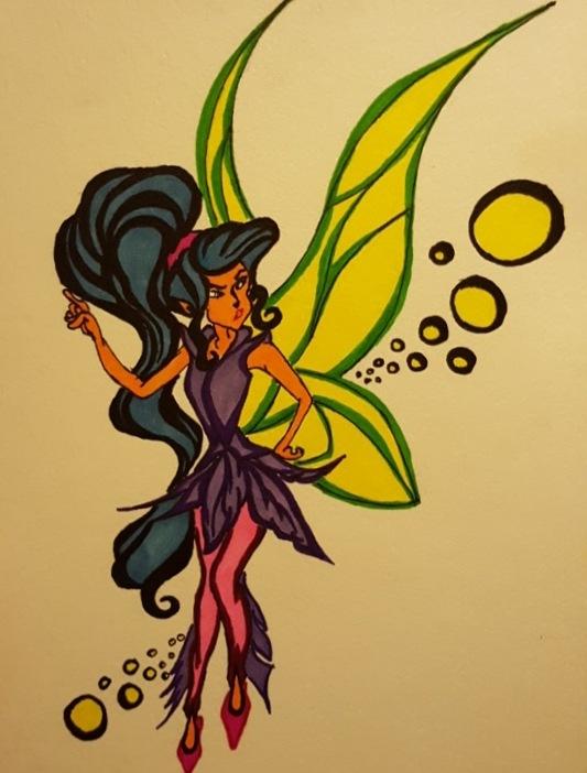 Fairy for my diary  by Simona Horvatova