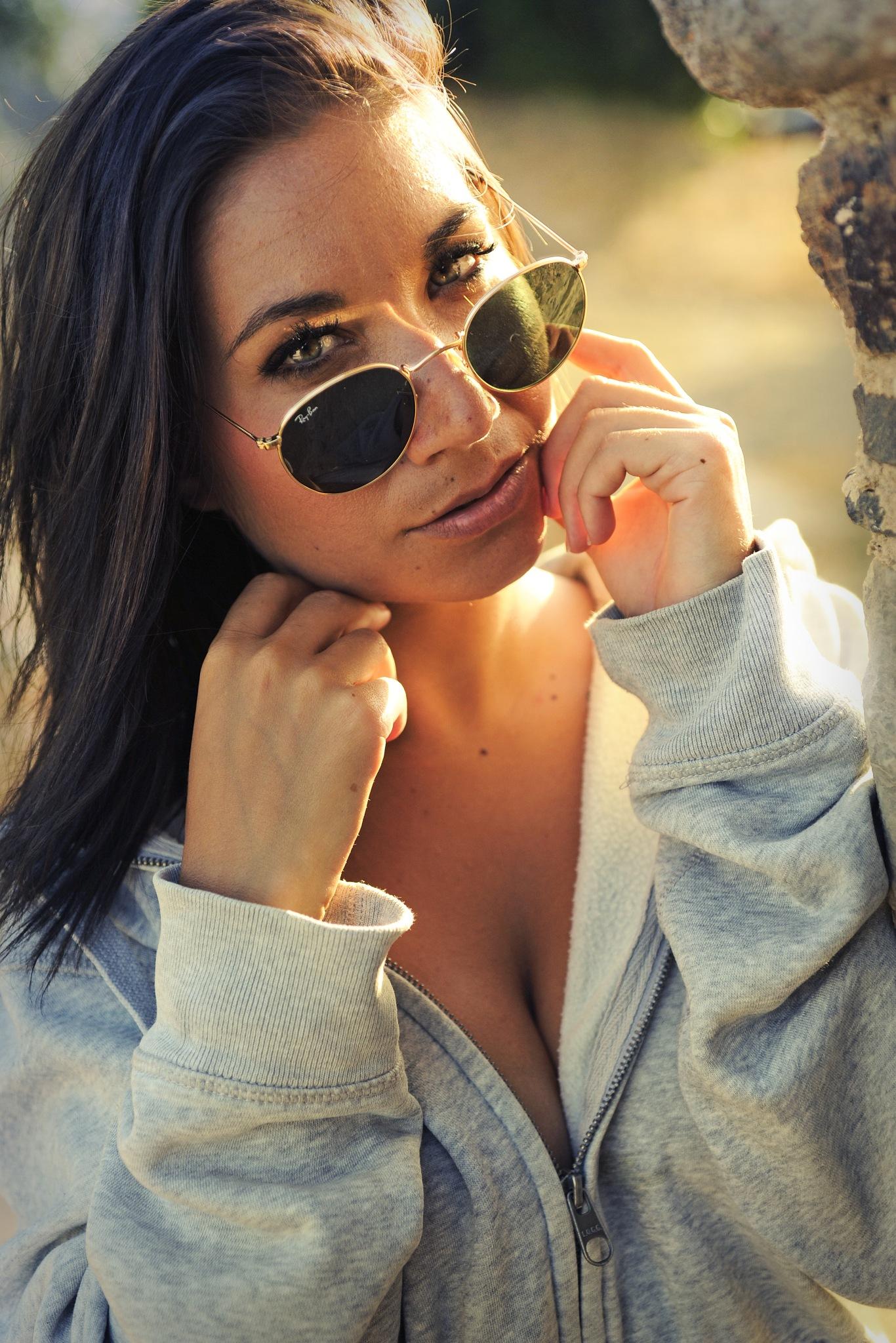 Sunset Glasses by Marthi