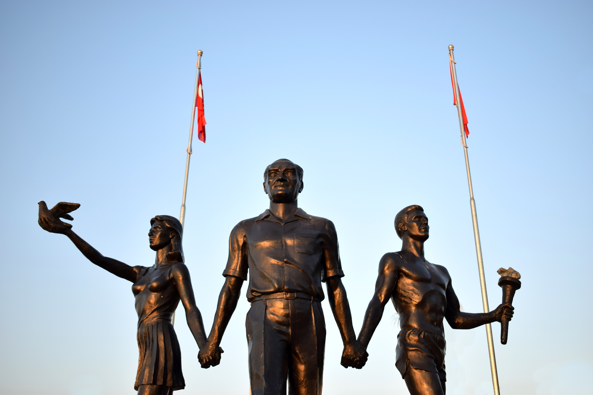 Monument of Ataturk and Youth by ciscoworlds