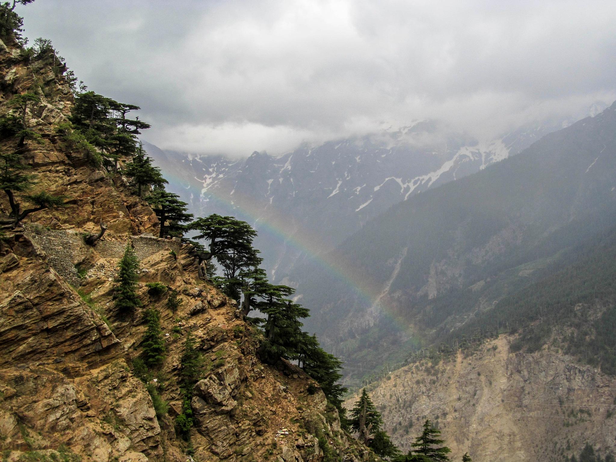 Cloudy Rainbow by Anubhav Chauhan