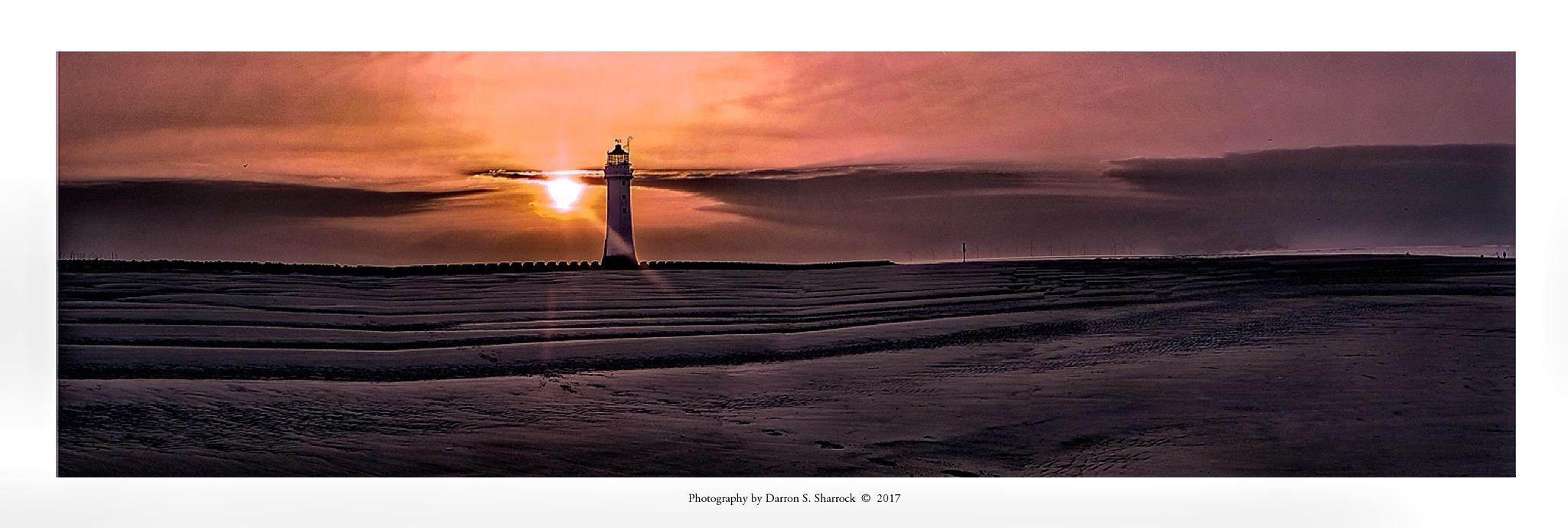 New Brighton Sunset by darronshome
