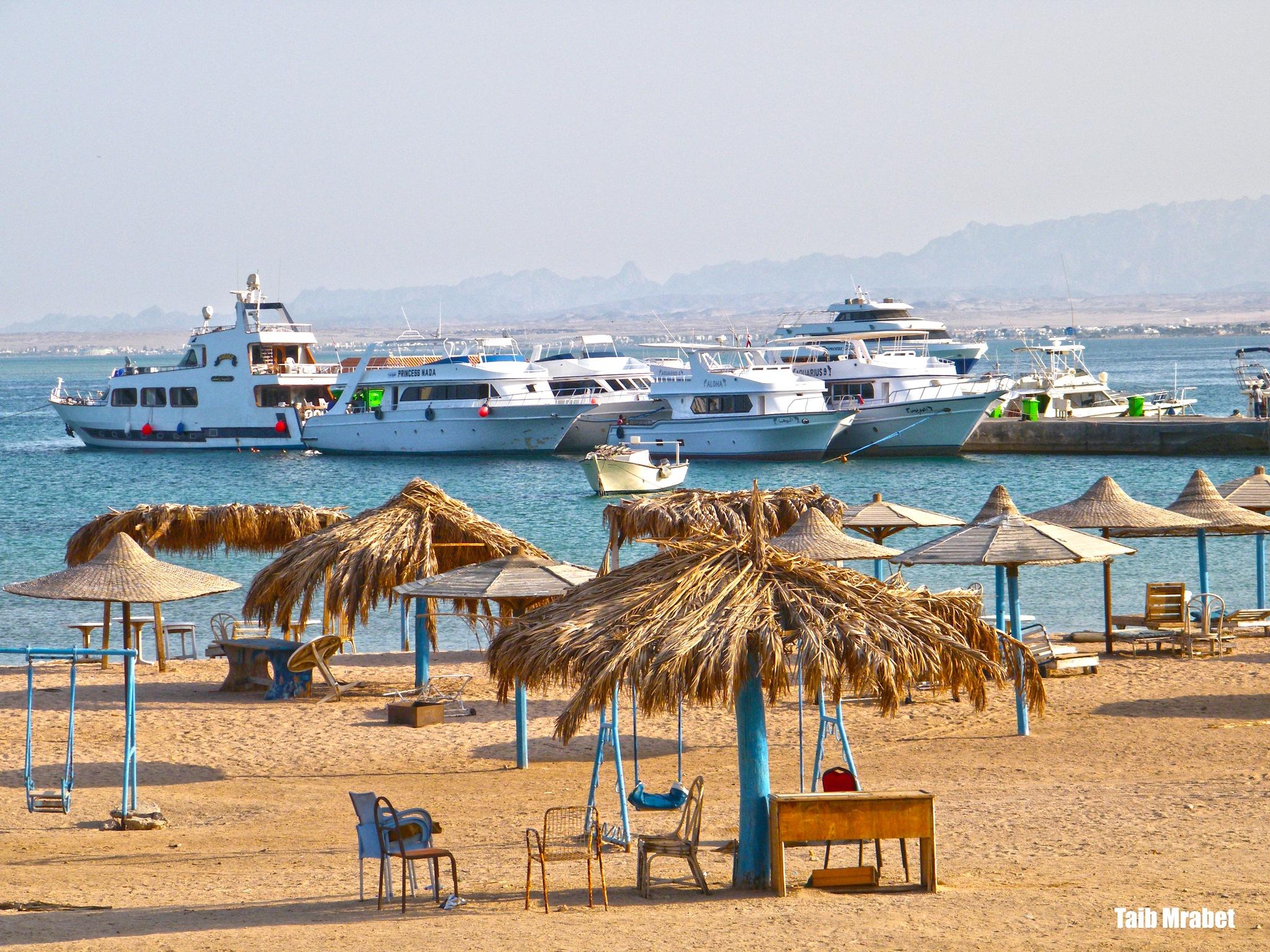 Hurgahada city by Taib MMrabet