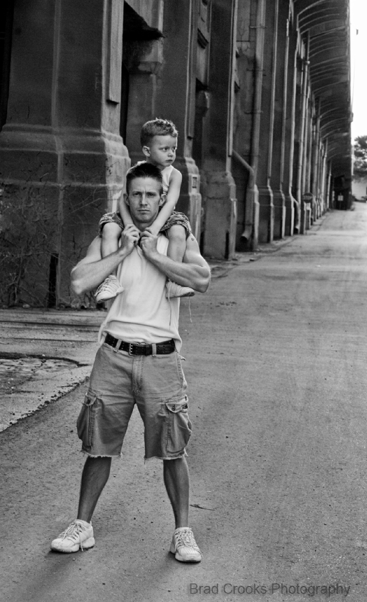 Father and Son by Brad Crooks Photography