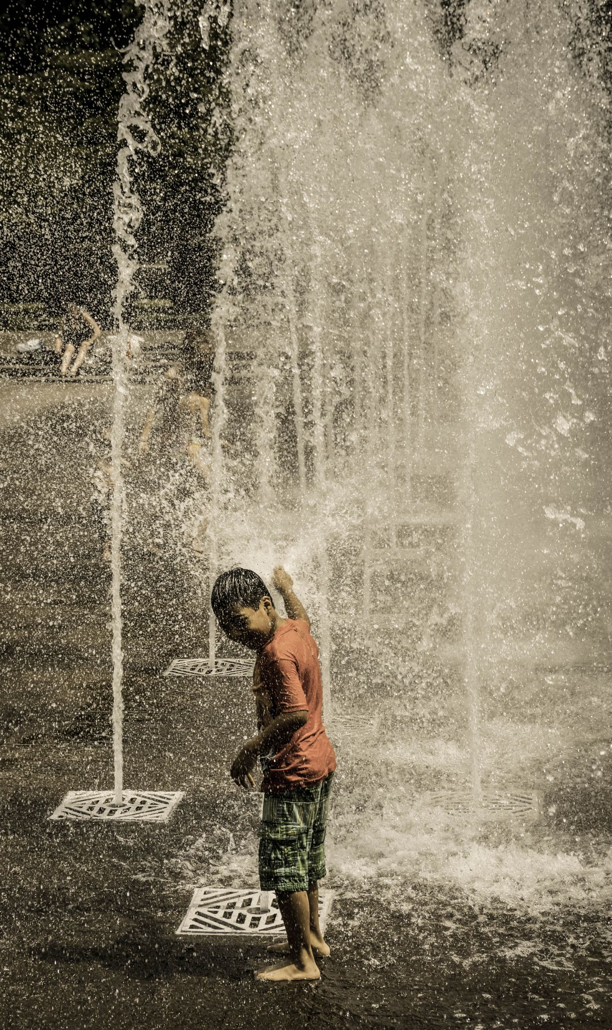 Summer Shower by Nate Eckler Photography