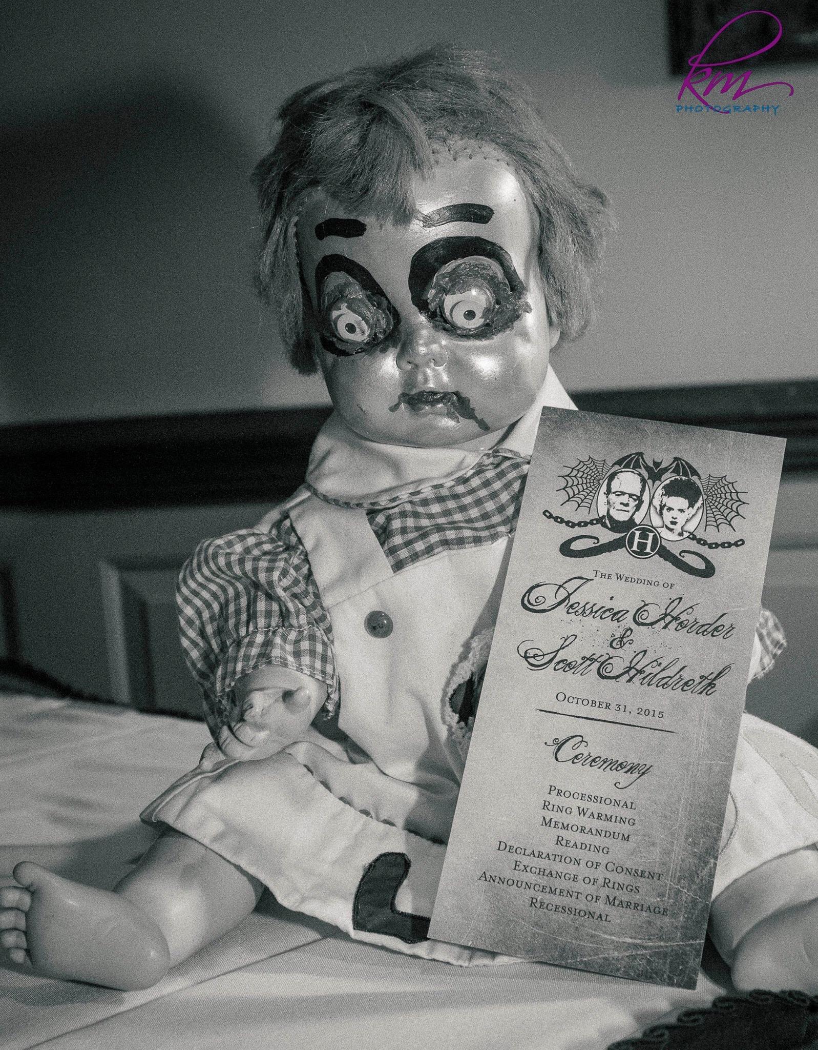 Creepy doll  by Tina Paris