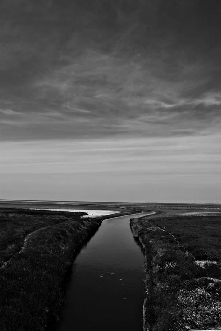 view on the wadden by Sjoerd Zwaan