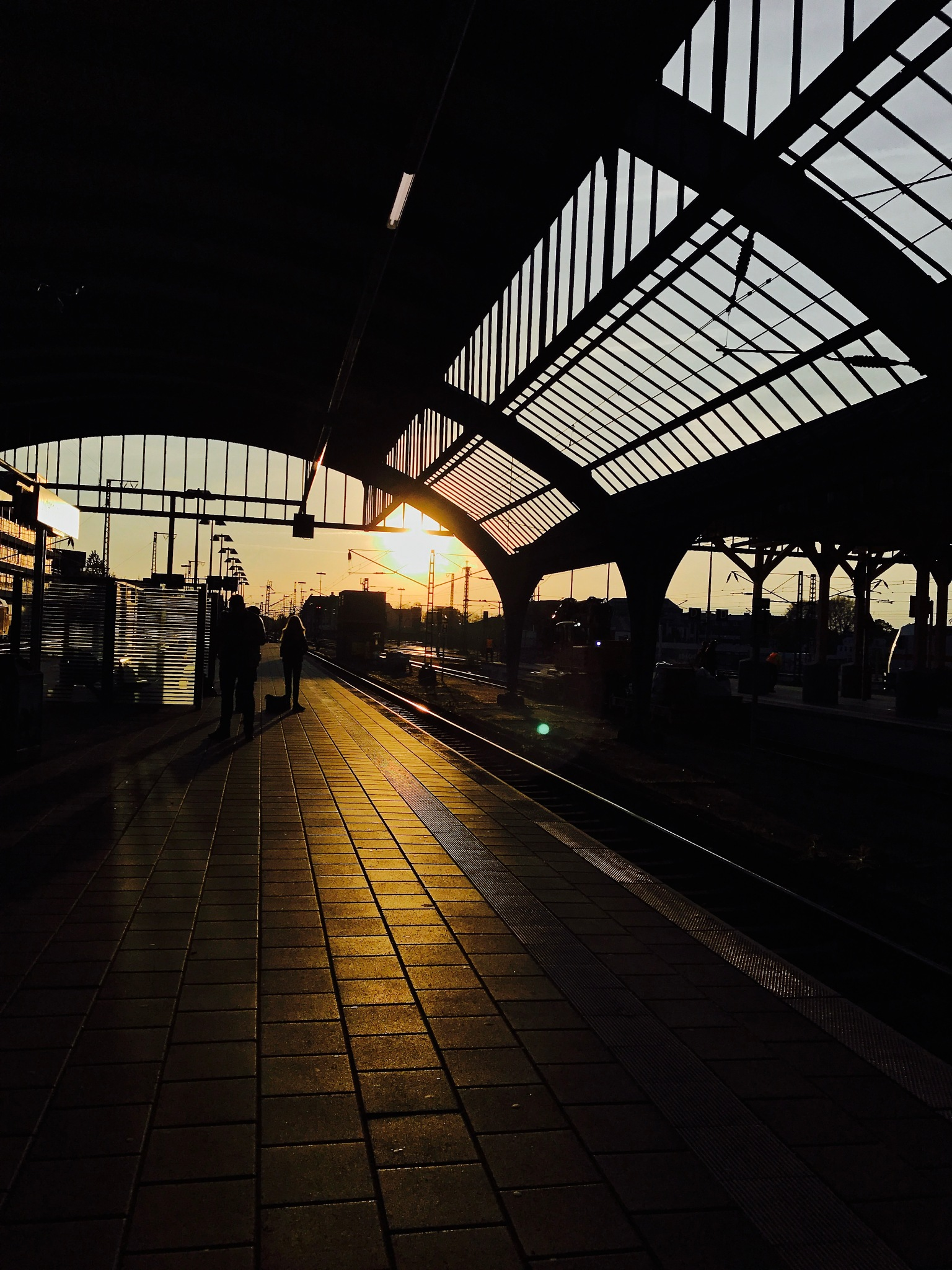 train station by Maya G.