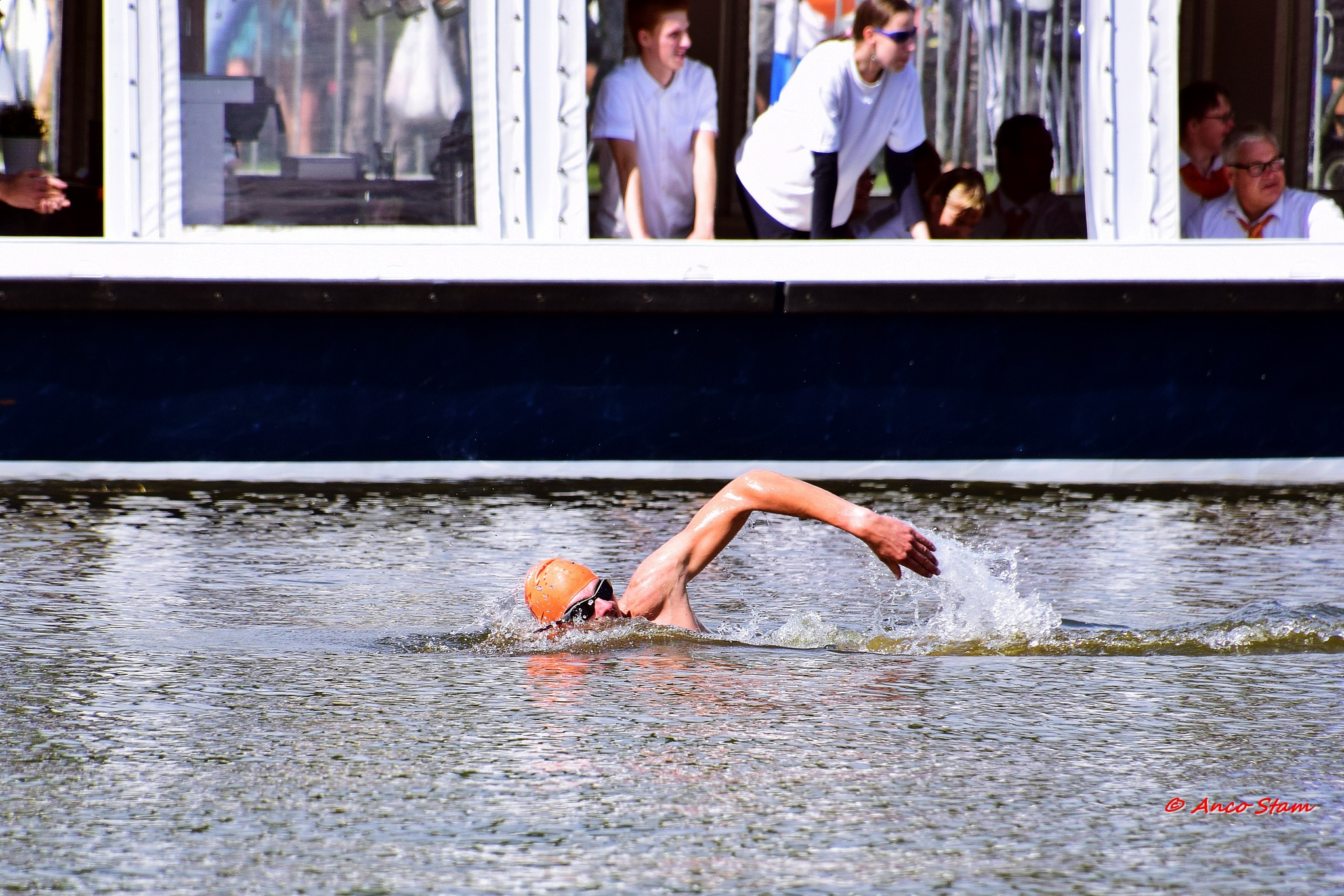 alocalswim Assen........swimming for ALS by Anco Stam