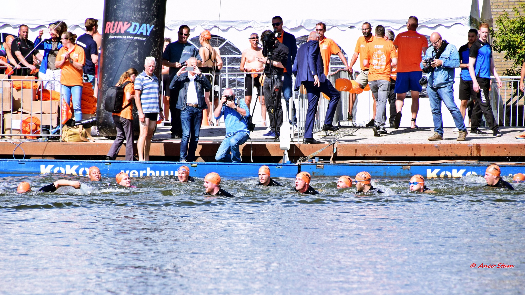 alocalswim Assen....... swimming for ALS by Anco Stam